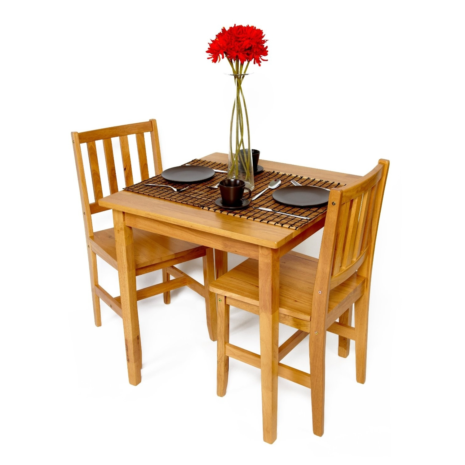 Best And Newest Dark Brown Lacquer Solid Wood Drop Leaves Dining Table Having Two Pertaining To Dining Tables With 2 Seater (View 23 of 25)