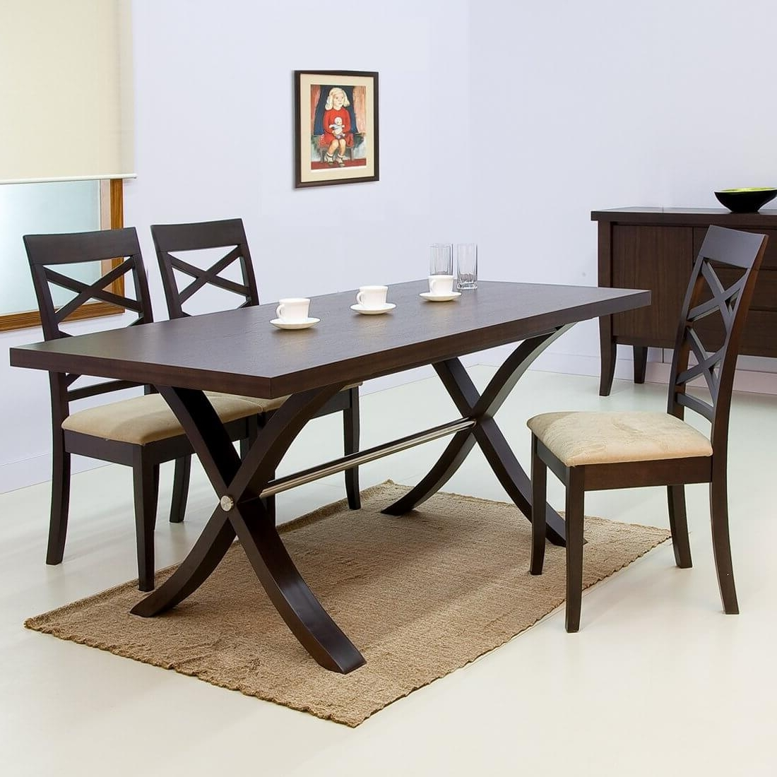 Best And Newest Dining Room Chairs Only Regarding Colombo Dining Table Only (Hf 04Co 11285) (View 24 of 25)