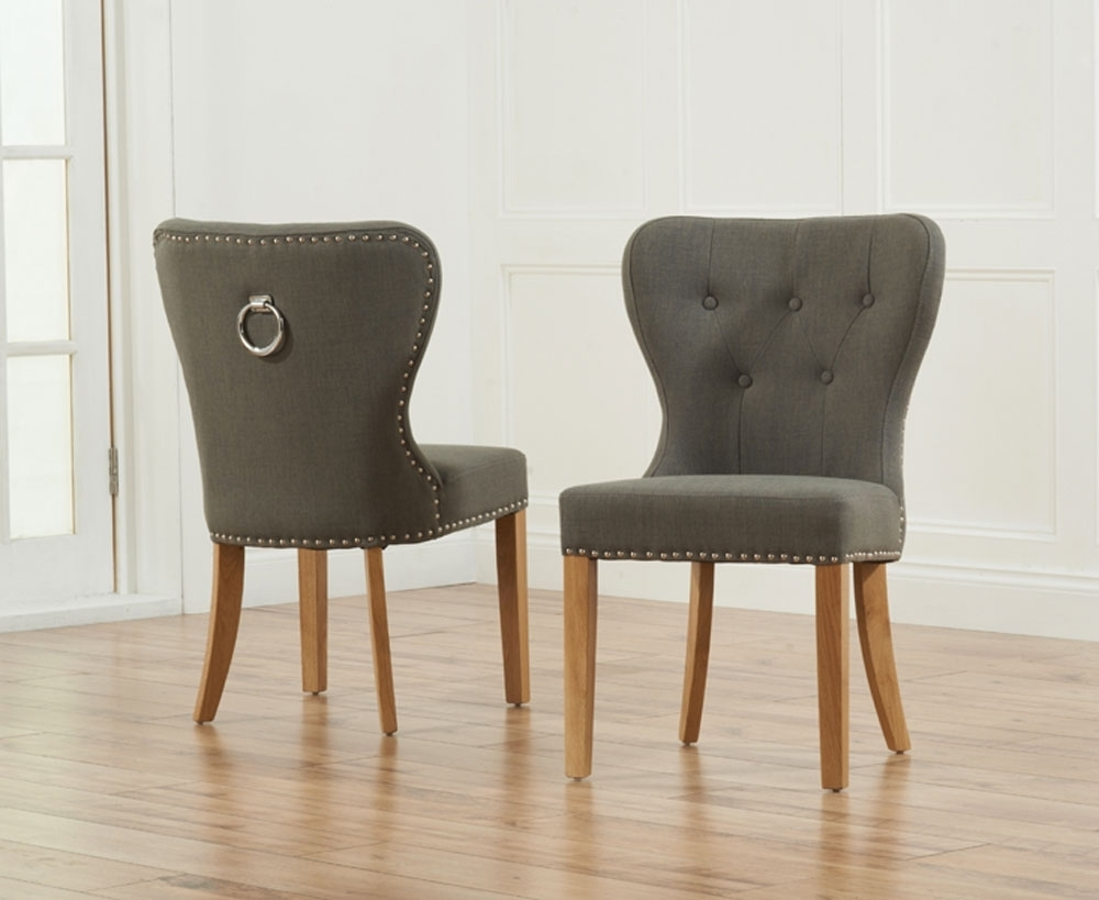 Best And Newest Fabric Dining Chairs Danish : Cozy And Stylish Fabric Dining Chairs Pertaining To Fabric Covered Dining Chairs (Gallery 1 of 25)