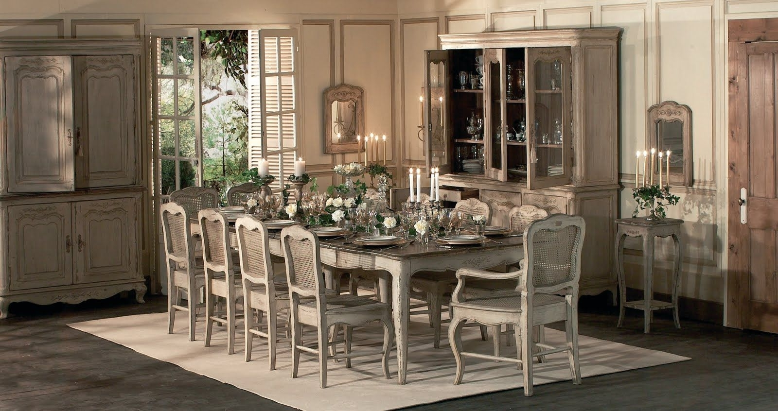 Best And Newest French Country Dining Set (View 22 of 25)