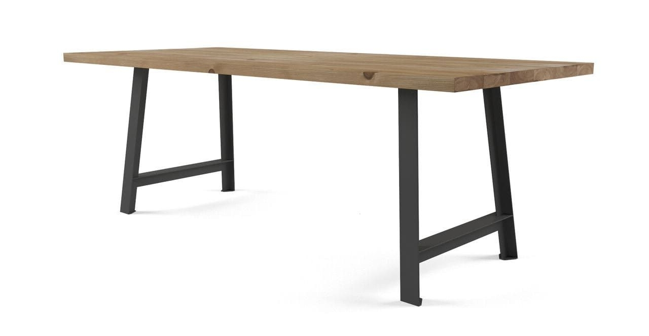 Best And Newest Helms Rectangle Dining Tables Pertaining To Helm Dining Table (View 3 of 25)
