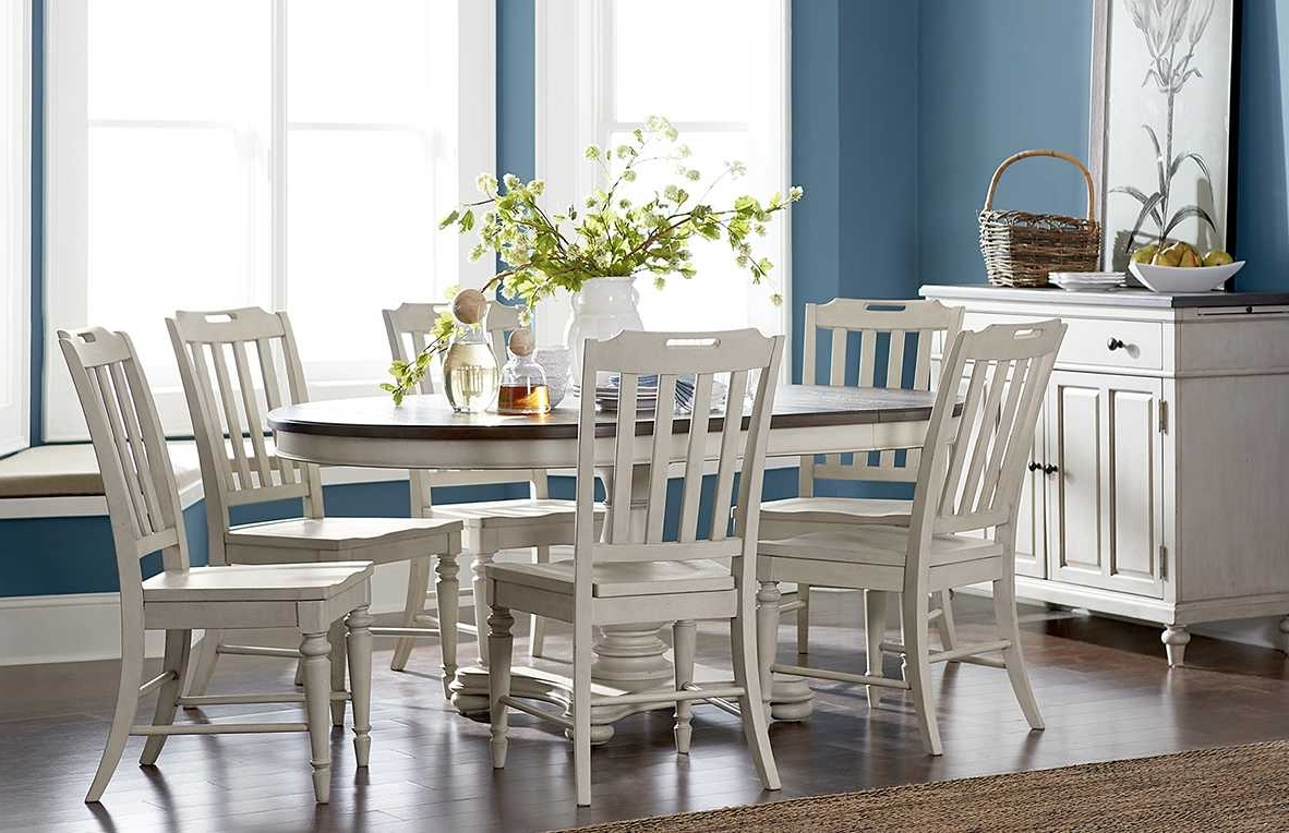 Best And Newest How To Choose Dining Table Size & Dimensions – Macy's With Regard To Macie 5 Piece Round Dining Sets (View 10 of 25)