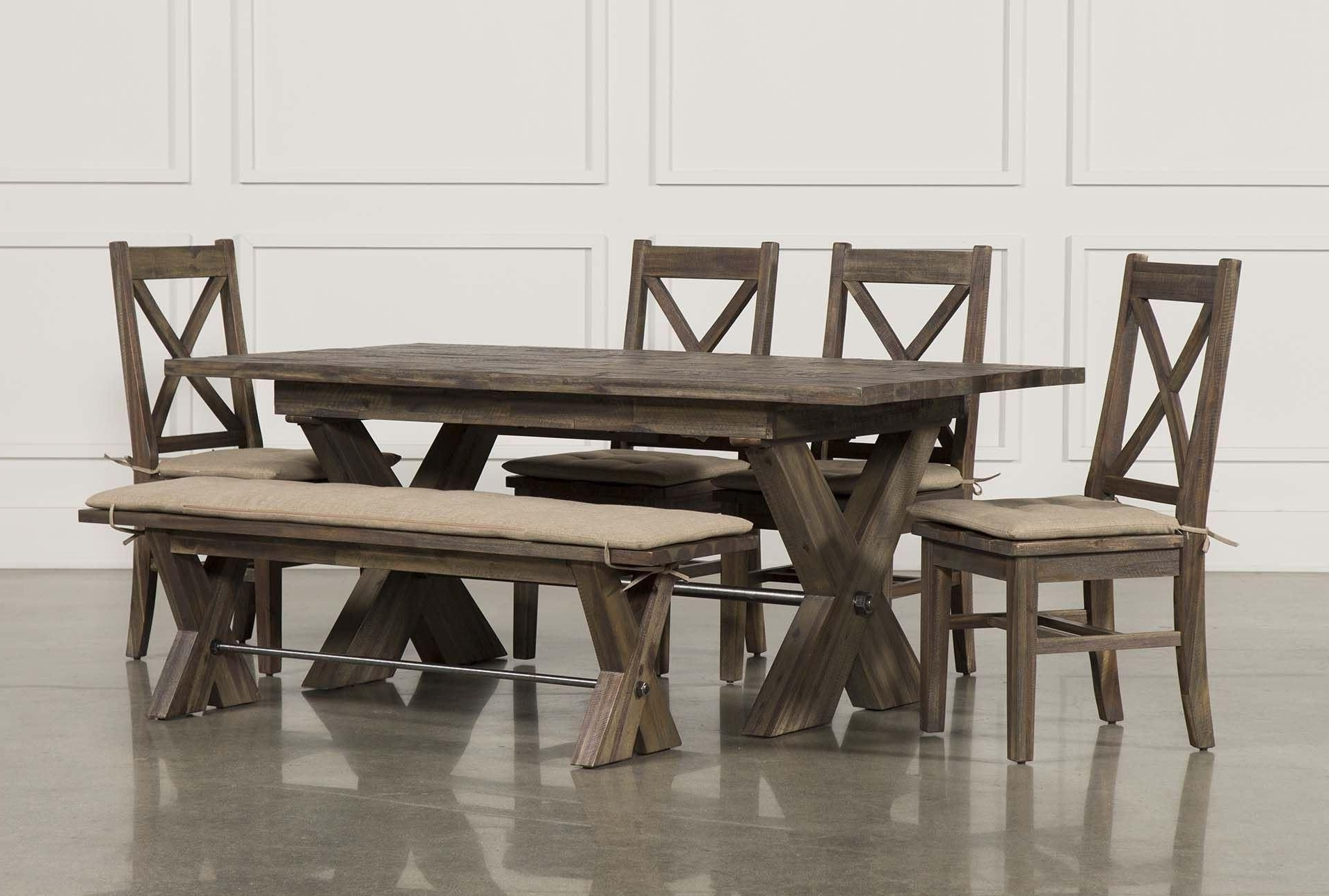 Best And Newest Mallard 6 Piece Extension Dining Set, Grey (View 2 of 25)