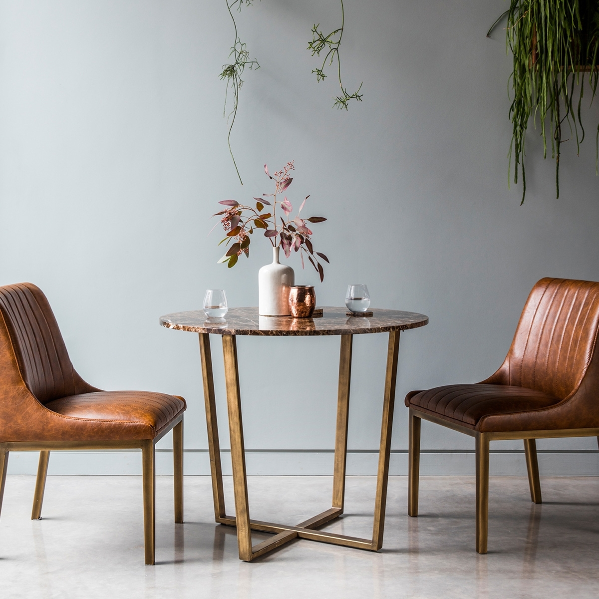 Best And Newest Palatine Marble Dining Table Round 2 4 Seat (View 22 of 25)