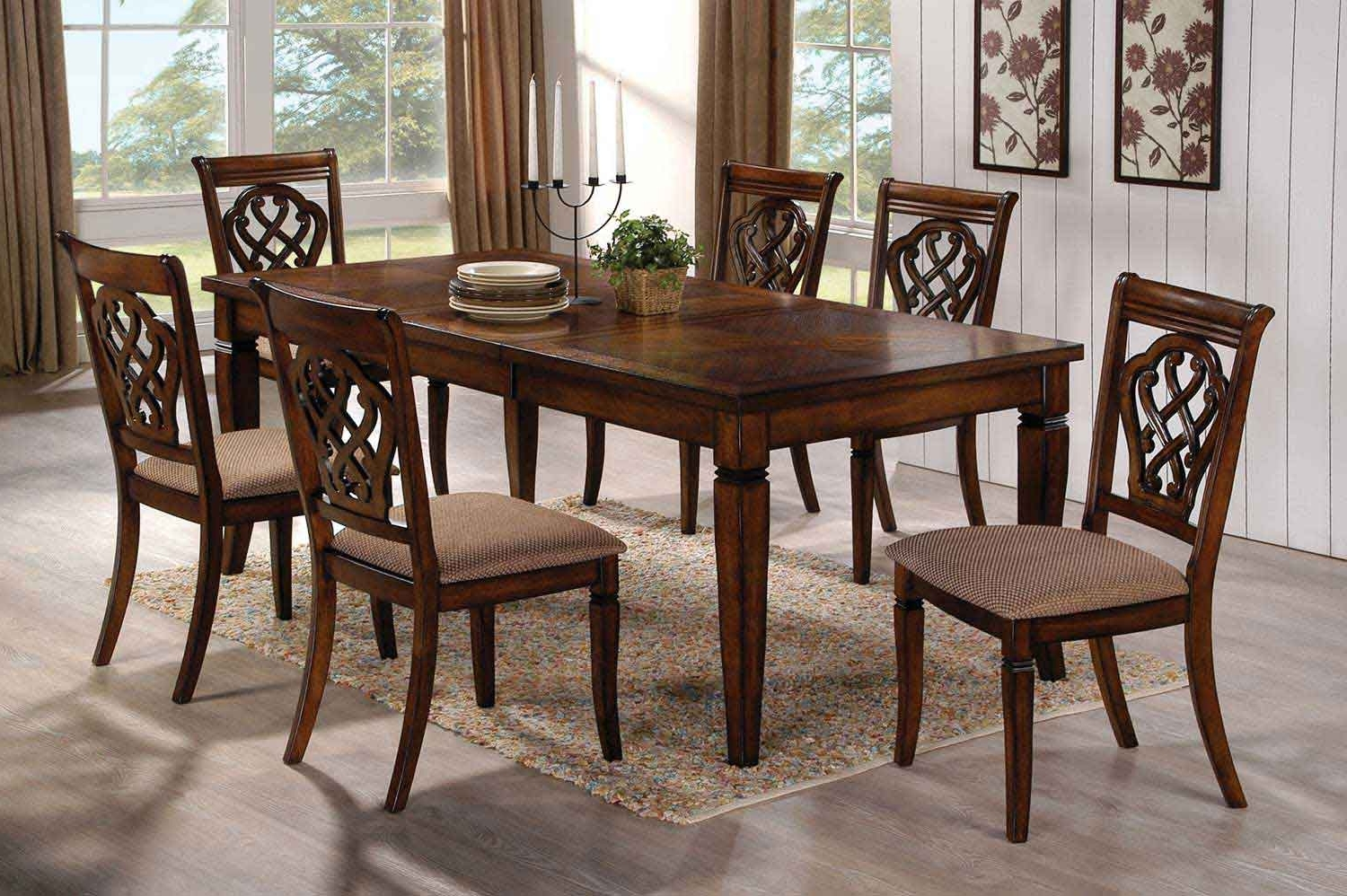 Best And Newest Rectangle Kitchen Table And Chairs Sets (View 20 of 25)