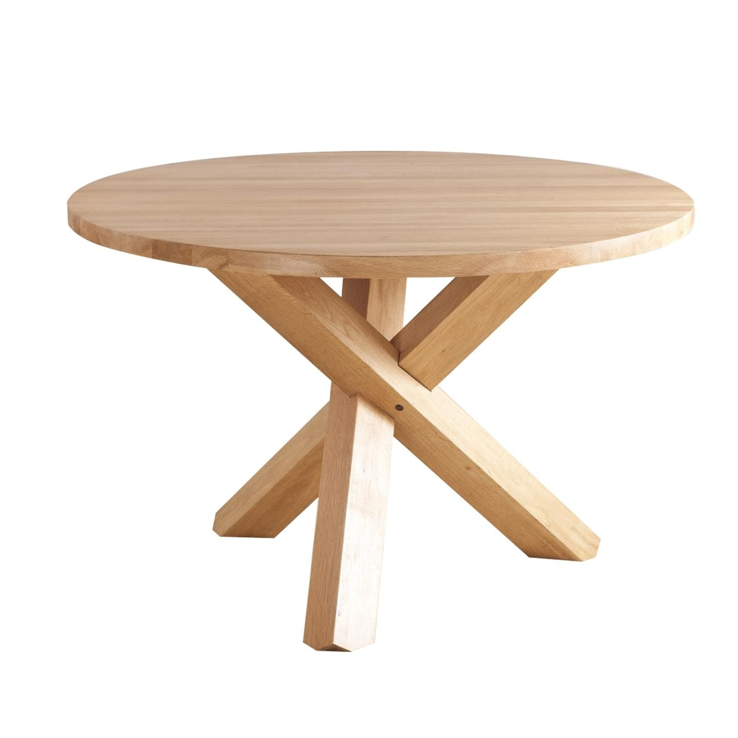 Best And Newest Round Oak Dining Tables – Soulpower Regarding Circular Oak Dining Tables (View 8 of 25)