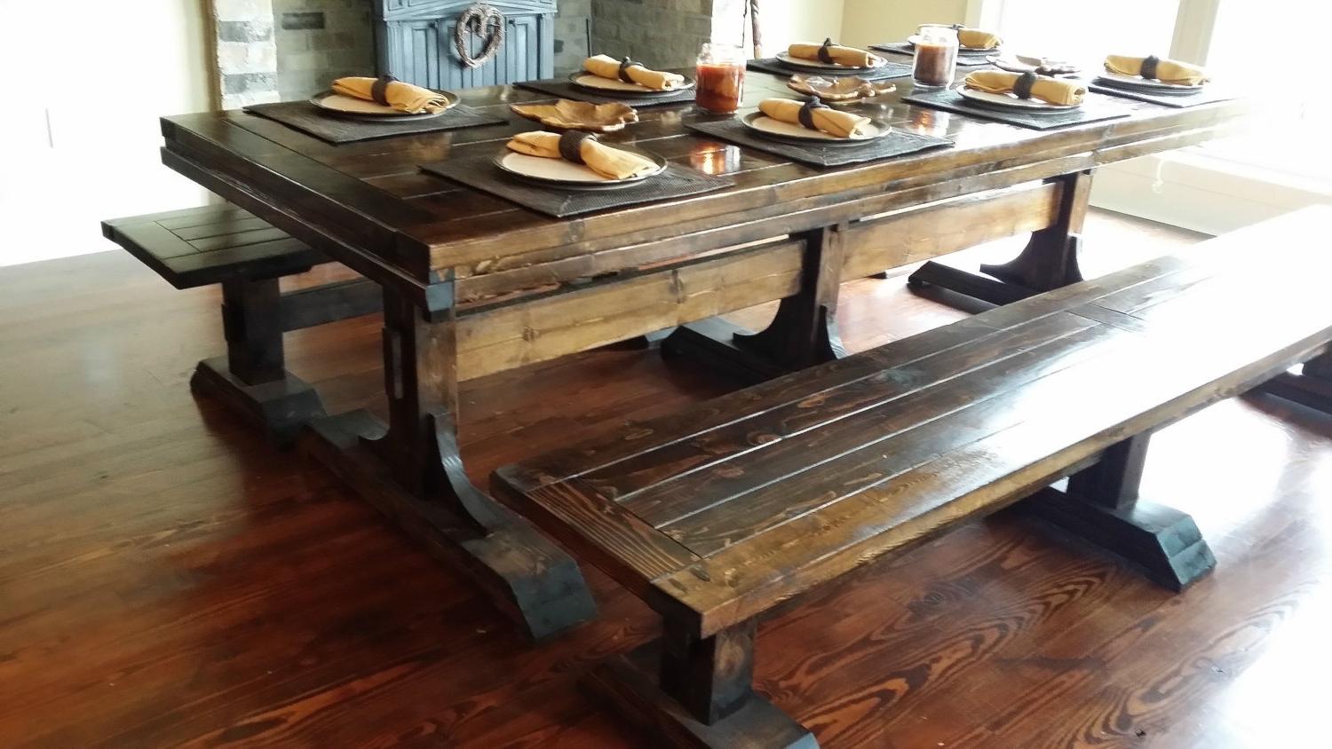 Best And Newest Rustic Farmhouse Table Plans Unique Winsome Farm Dining Tables 12 With Regard To Farm Dining Tables (View 18 of 25)