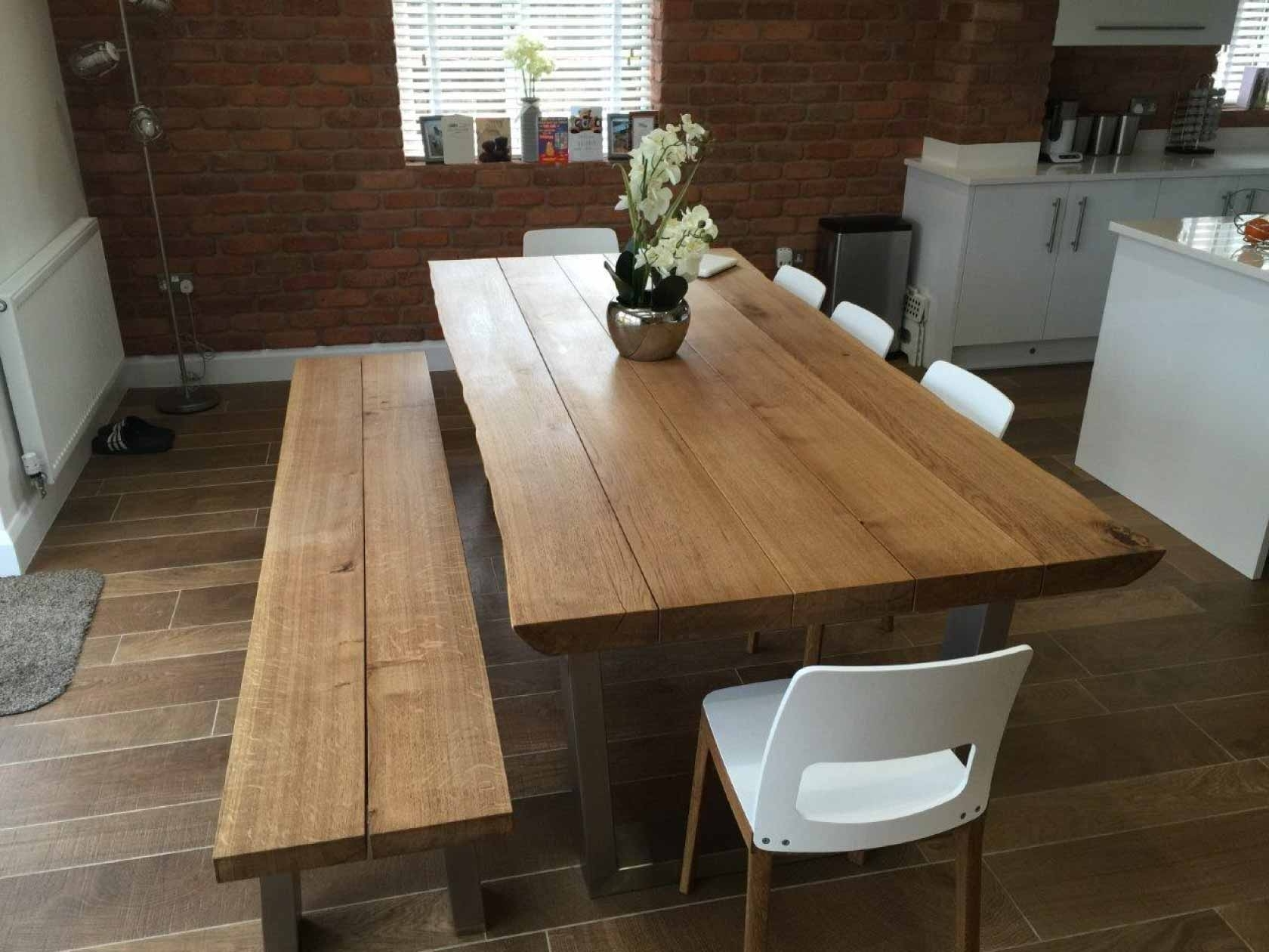 Best And Newest Rustic Oak Dining Table (View 3 of 25)