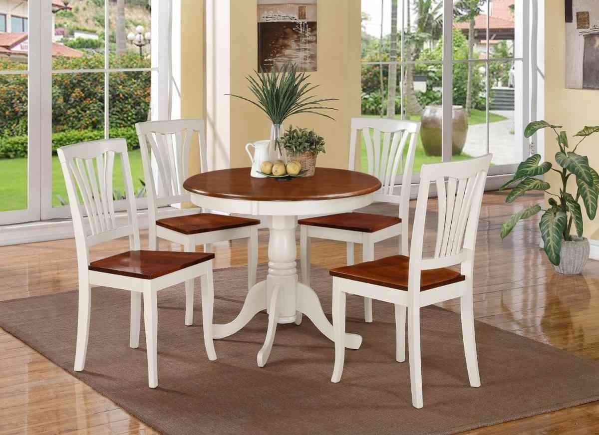 Best And Newest Small Round White Dining Tables Pertaining To Use A Small Round Dining Table For Your Kitchen Dining – Home Decor (View 3 of 25)