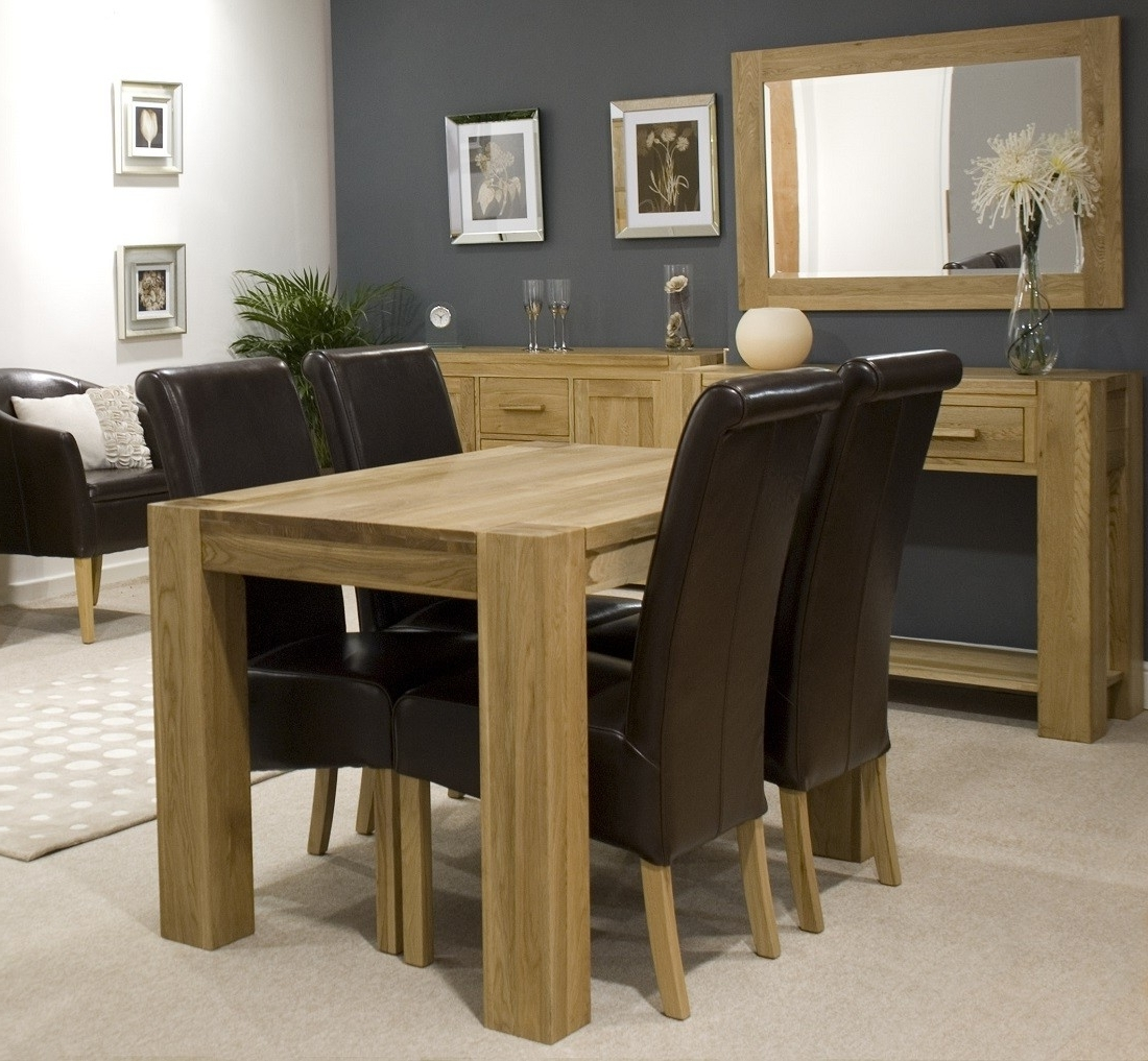Best And Newest Trend Solid Oak Small Dining Table (View 4 of 25)