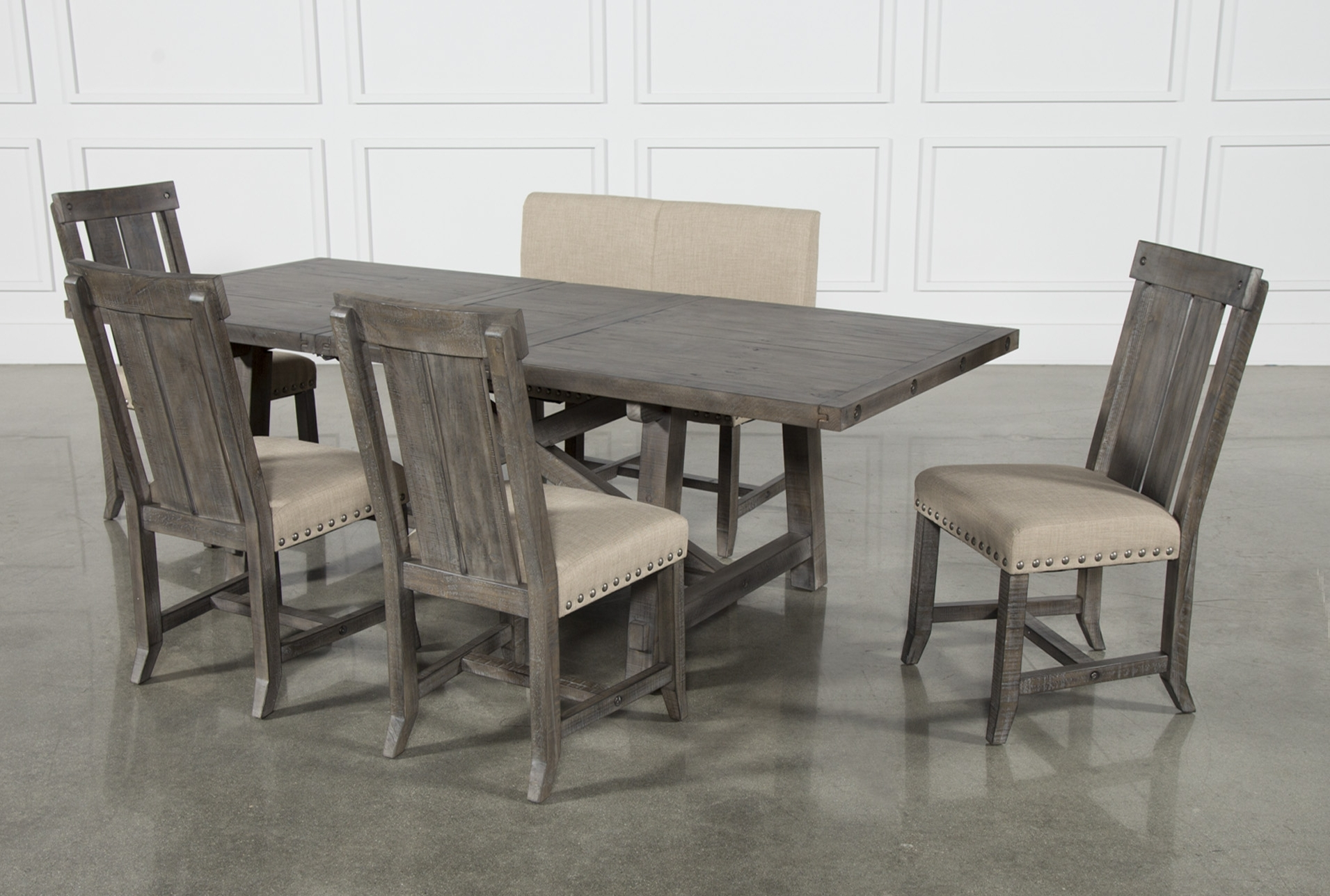 Besteneer Rectangular Dining Room Table Dark Gray – Signat With Regard To Most Recently Released Jaxon Grey Round Extension Dining Tables (View 14 of 25)