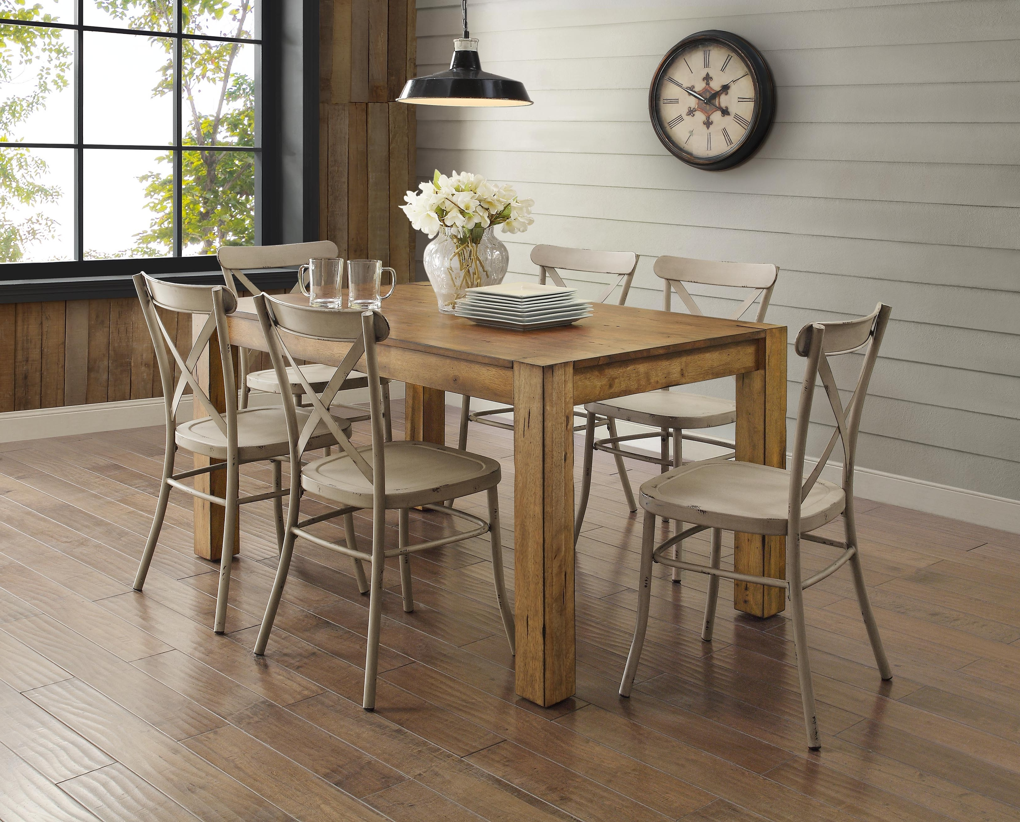 Better Homes & Gardens Bryant Dining Table, Multiple Finishes Intended For 2018 Kitchen Dining Sets (View 5 of 25)