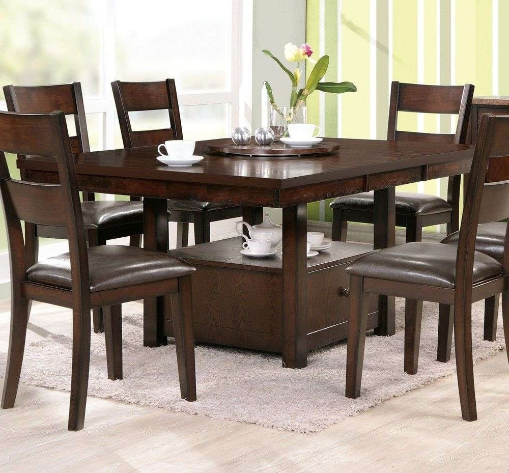 Big Round Dining Table 8 Chairs Best Round Dining Tables Dining Room Regarding Well Liked Dining Tables Seats 8 (Gallery 13 of 25)