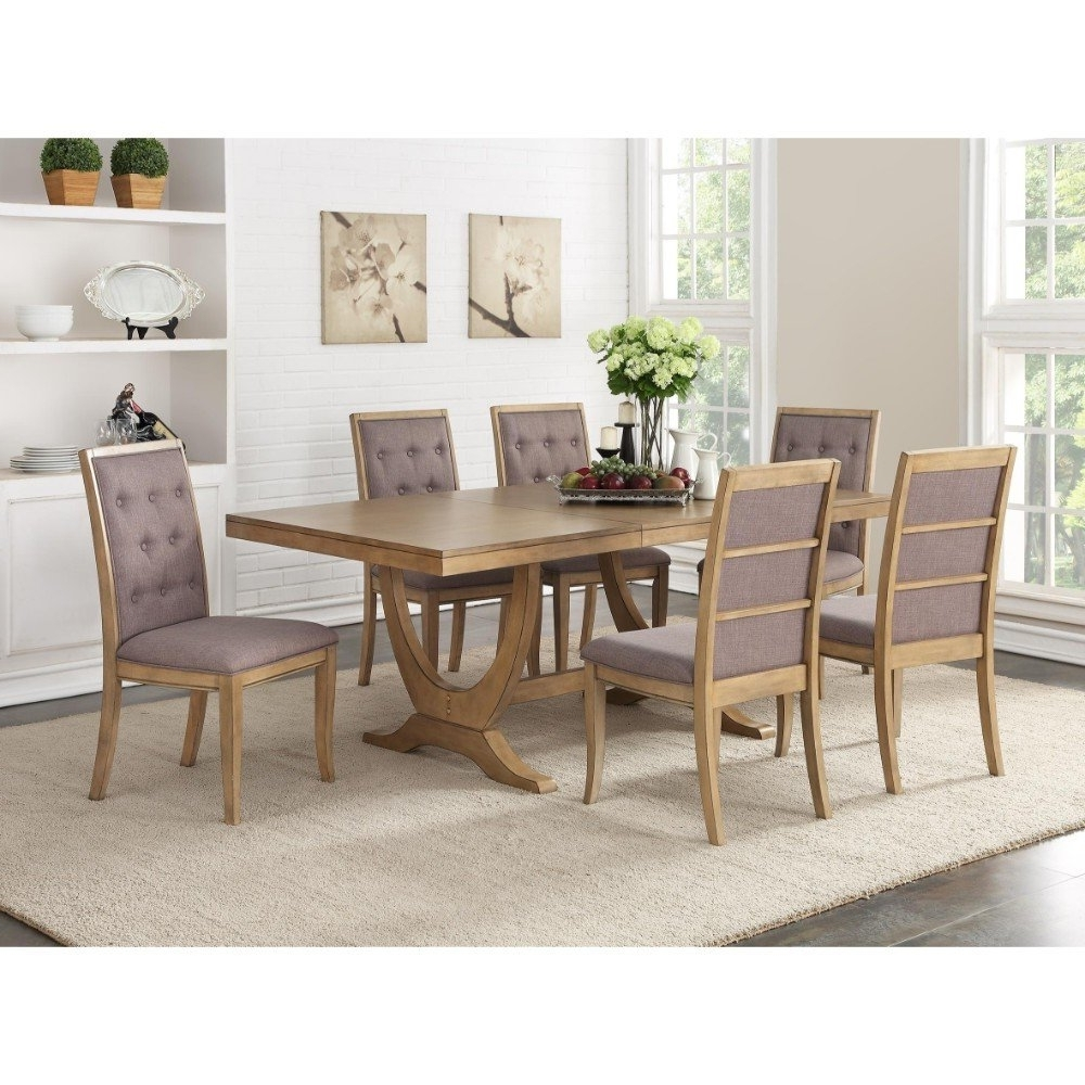 Birch Dining Tables Inside Newest One Allium Way Desbois Birch Wood Dining Table (Gallery 23 of 25)