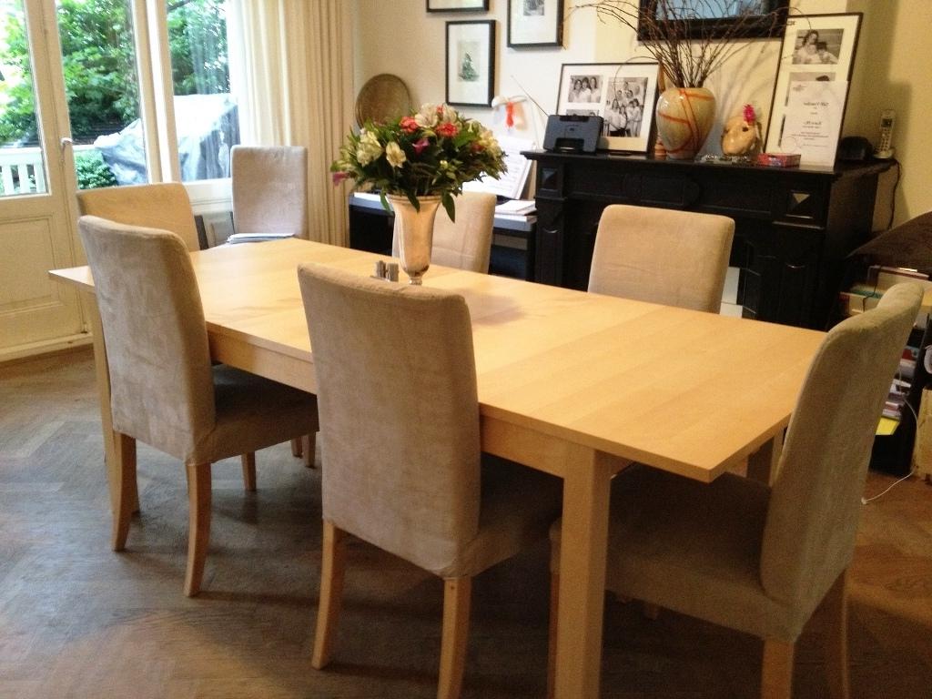 Birch Dining Tables Regarding Recent Dining Table Ikea Dinnng — Jherievans (Gallery 18 of 25)