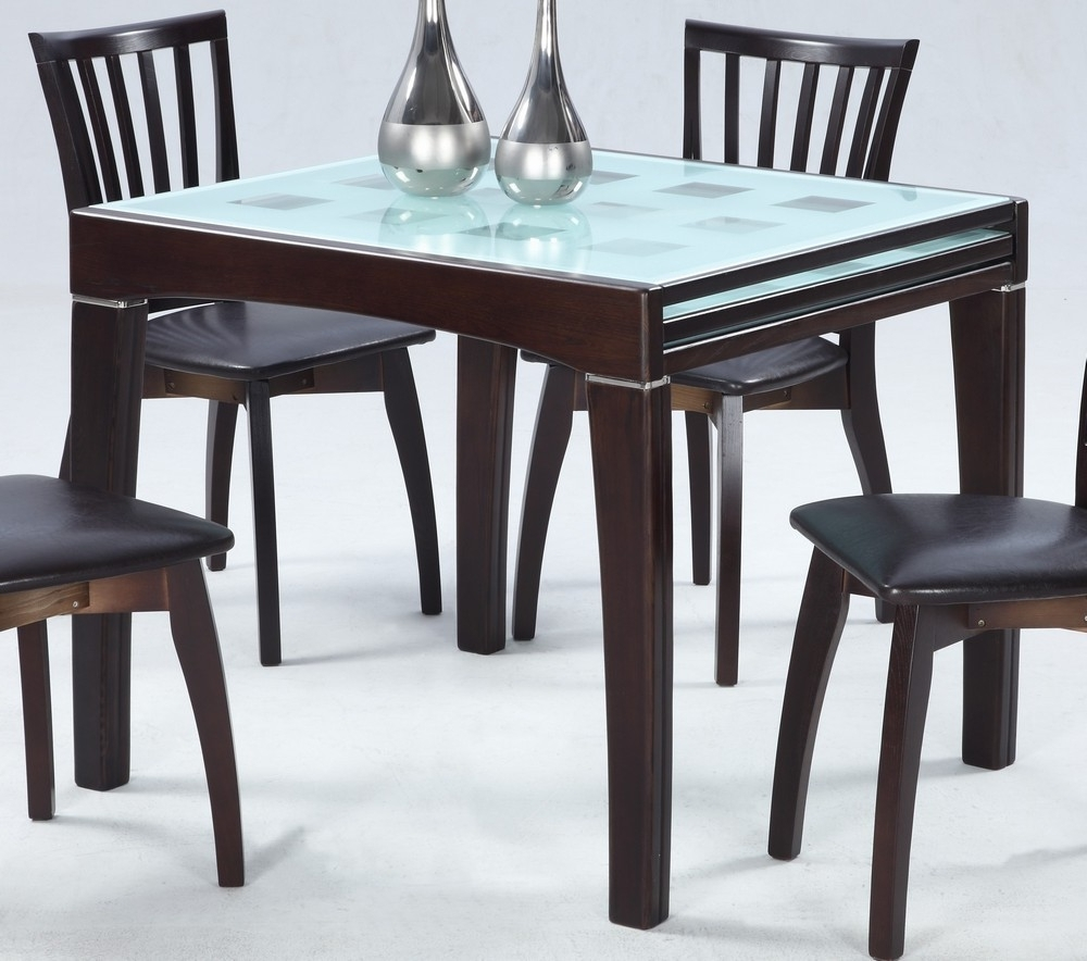 Black Extendable Dining Tables Sets Pertaining To Favorite Expandable Dining Table Black All About House Design : Amazing (View 16 of 25)