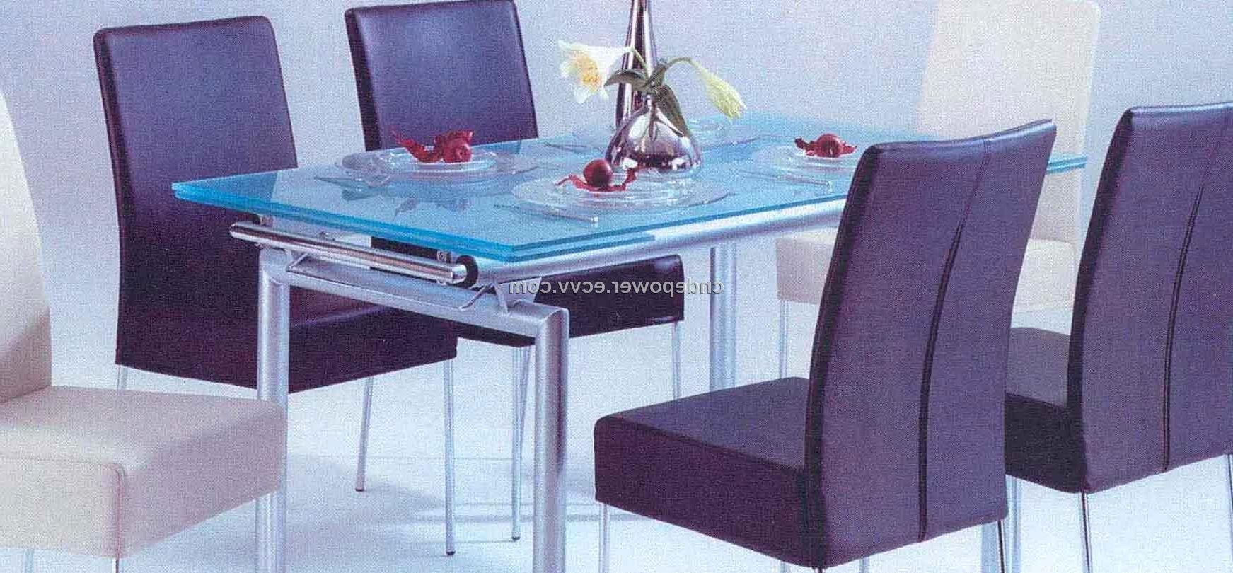 Blue Glass Dining Tables Regarding Preferred Dining Table Set Purchasing, Souring Agent (Gallery 3 of 25)