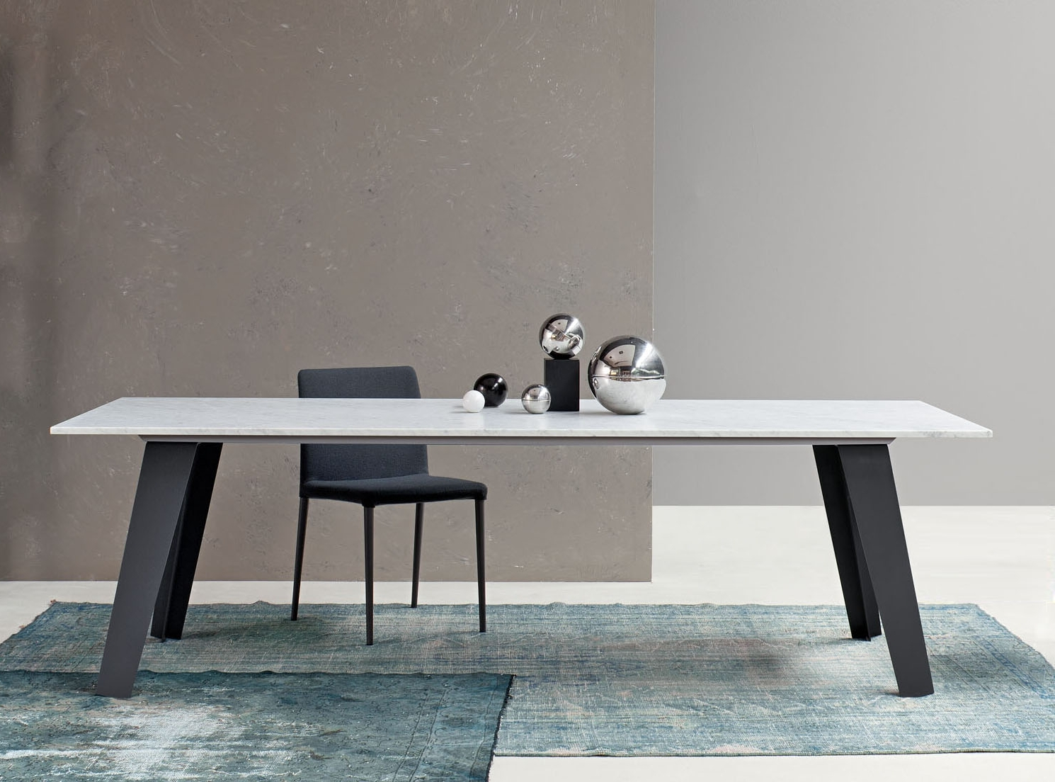Bonaldo Welded Marble Dining Table (Gallery 21 of 25)