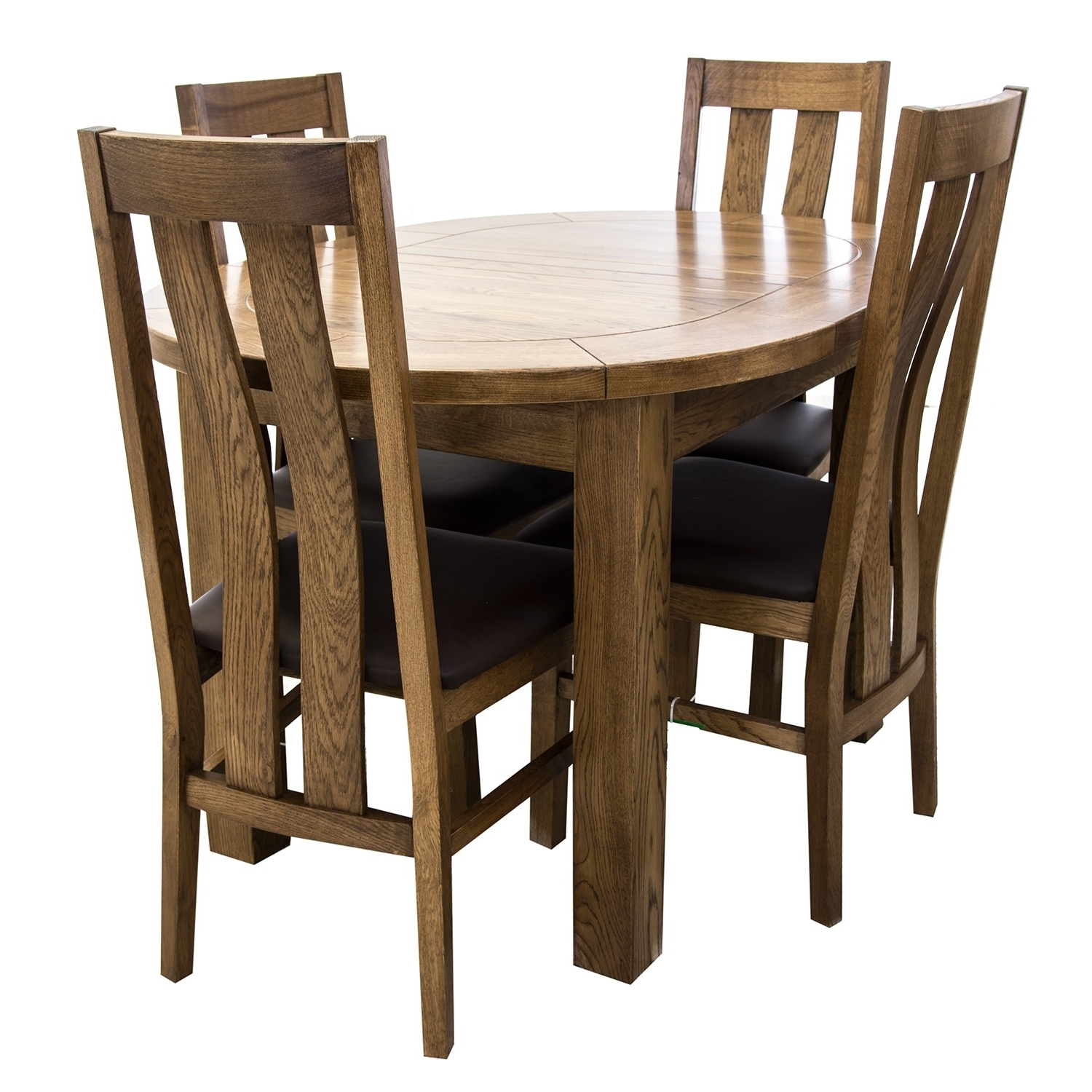 Bordeaux Dining Tables In Current Bordeaux Small D End Dining Table & Four Chairs (Gallery 15 of 25)