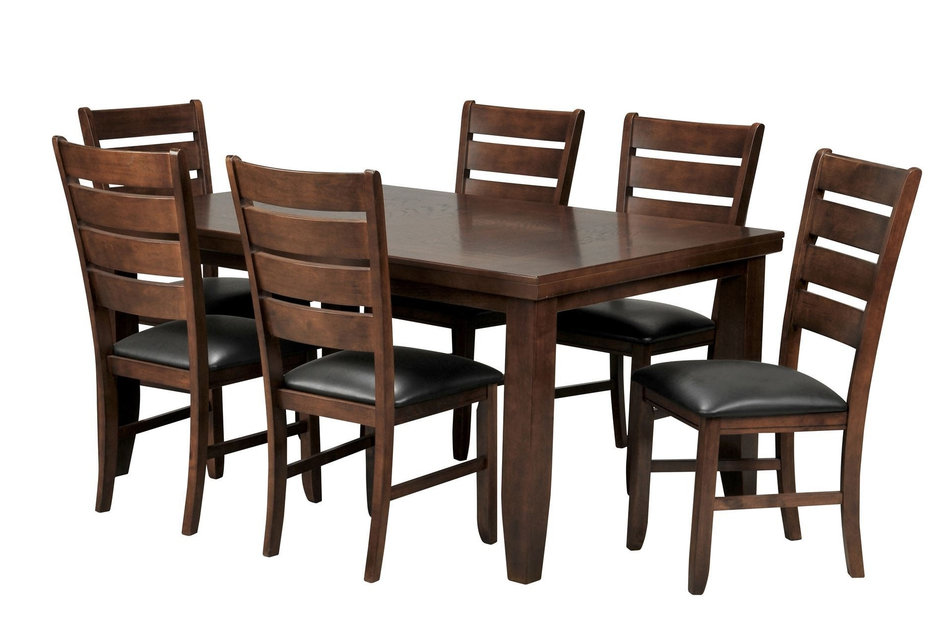 Bradford 7 Piece Dining Set W/ 6 Bardstown Side Chairs – Dining Throughout Trendy Bradford Dining Tables (View 6 of 25)