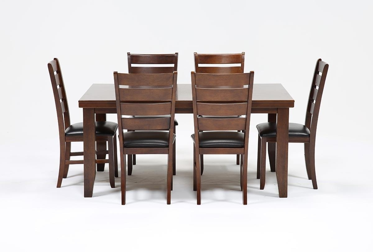 Bradford 7 Piece Dining Set W/bardstown Side Chairs (View 7 of 25)