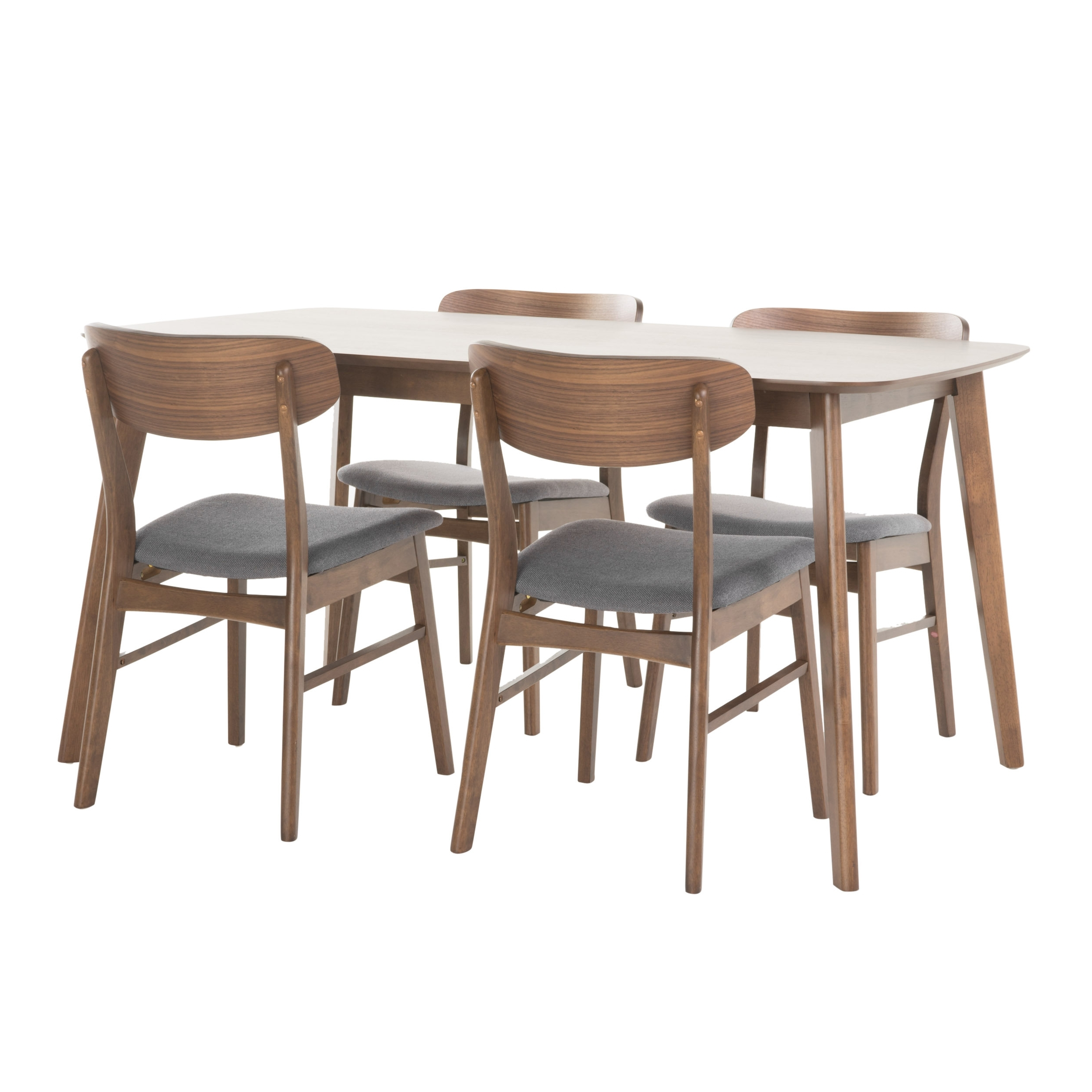 Brayden Studio Feldman 5 Piece Dining Set & Reviews (View 4 of 25)