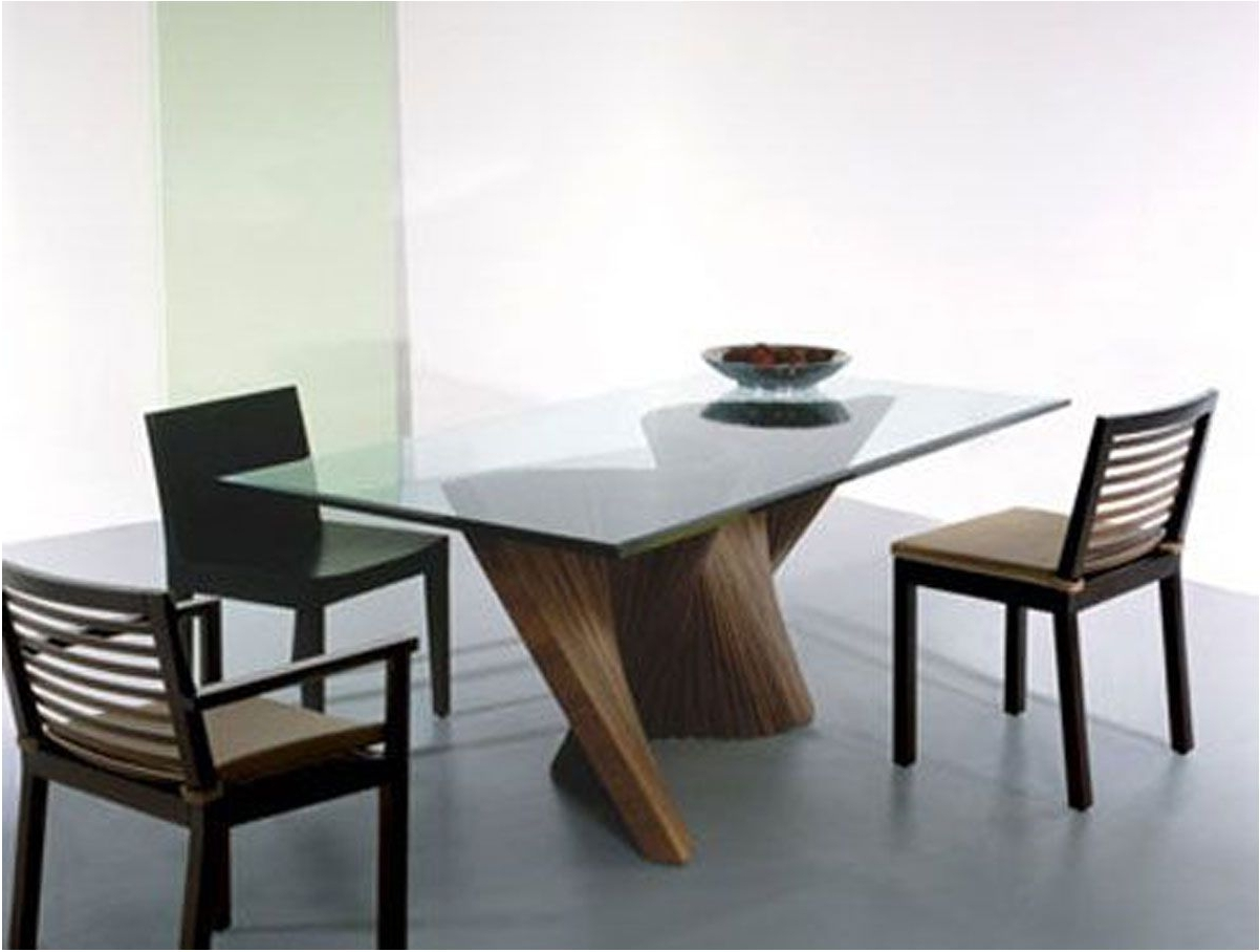 Brilliant Dining Table Modern Furniture Dining Room Decor Ideas And Inside Most Current Contemporary Dining Furniture (View 5 of 25)