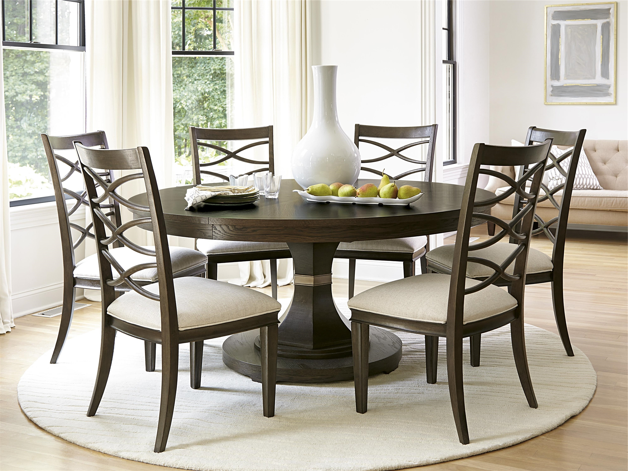 Brilliant Ideas Of Round Dining Room Table With Grady Round Dining In Recent Grady Round Dining Tables (View 3 of 25)