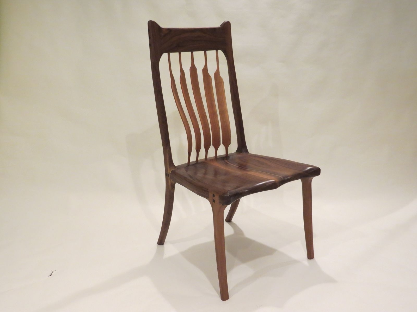 Buy A Custom High Back Dining Chair, Made To Order From Lost Creek For Newest High Back Dining Chairs (Gallery 18 of 25)