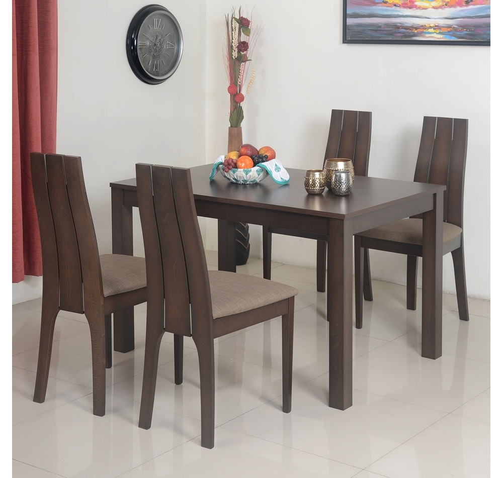 Buy Butterfly 4 Seater Extendable Dining Set – @homenilkamal For 2017 4 Seater Extendable Dining Tables (View 8 of 25)