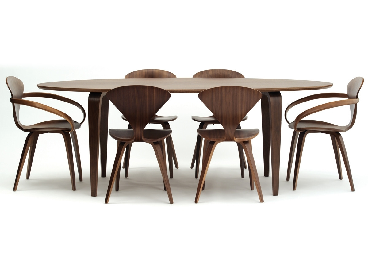 Buy Dining Tables Within Current Buy The Cherner Dining Table Oval At Nest.co (View 7 of 25)