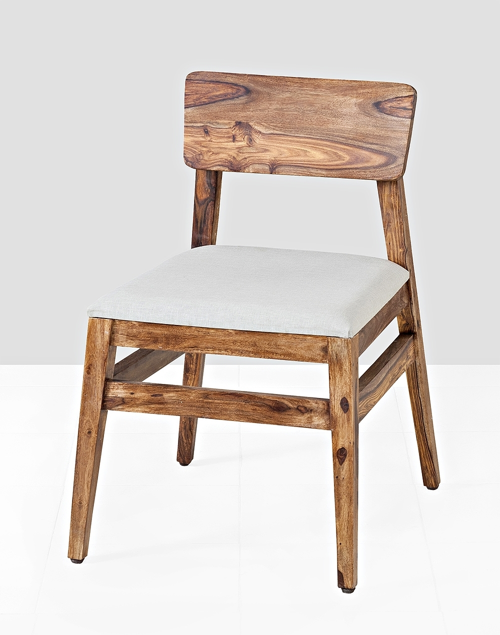 Buy Fabindia Brown Sheesham Obra Dining Chair With Cushion Online With Regard To 2017 Sheesham Dining Chairs (Gallery 13 of 25)