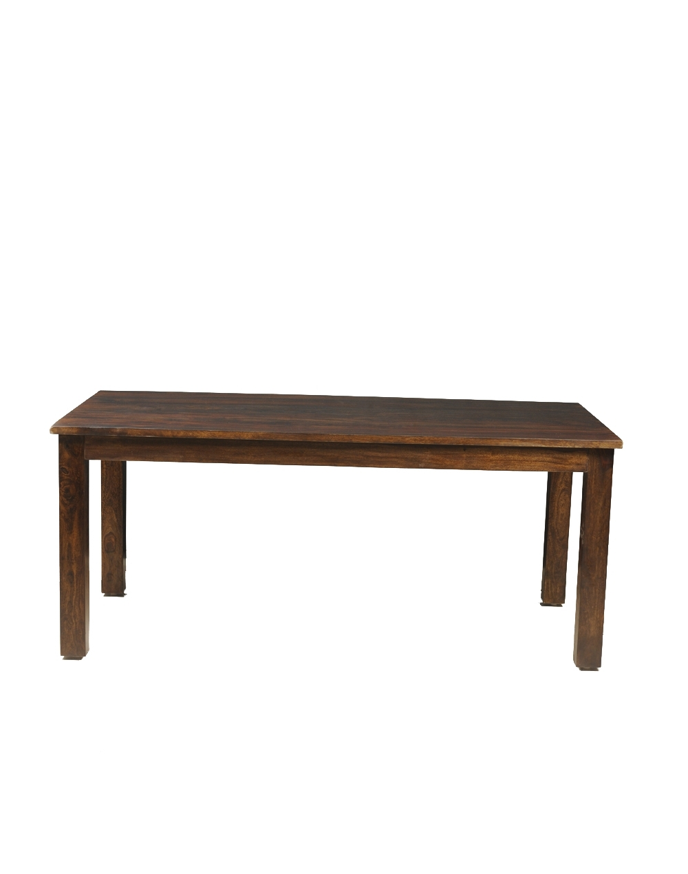 Buy Fabindia Brown Sheesham Retro Rectangle Dining Table Online Throughout Recent Palazzo Rectangle Dining Tables (View 16 of 25)