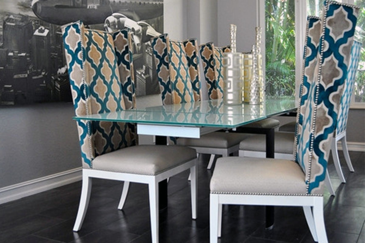 Buy Glass Dining Table Sets 6 Chairs In Lagos Nigeria Inside Recent 6 Seater Glass Dining Table Sets (View 8 of 25)