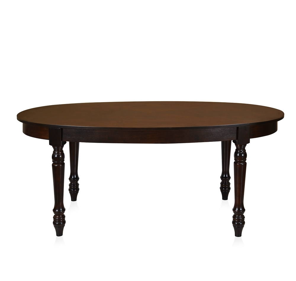Buy Isabella 6 Seater Dining Table – @homenilkamal, Walnut With Most Current Isabella Dining Tables (View 3 of 25)