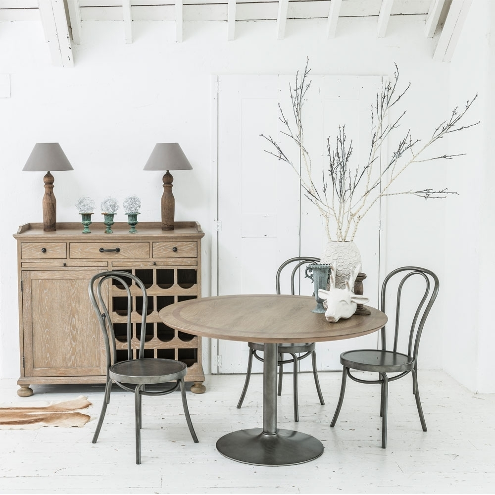 Buy London Round Dining Table – 122Cm The Furn Shop For Favorite London Dining Tables (View 19 of 25)