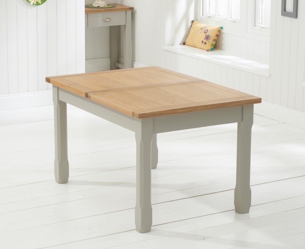 Buy Mark Harris Sandringham Solid Oak Dining Table – 130Cm Within Widely Used Extending Solid Oak Dining Tables (Gallery 11 of 25)