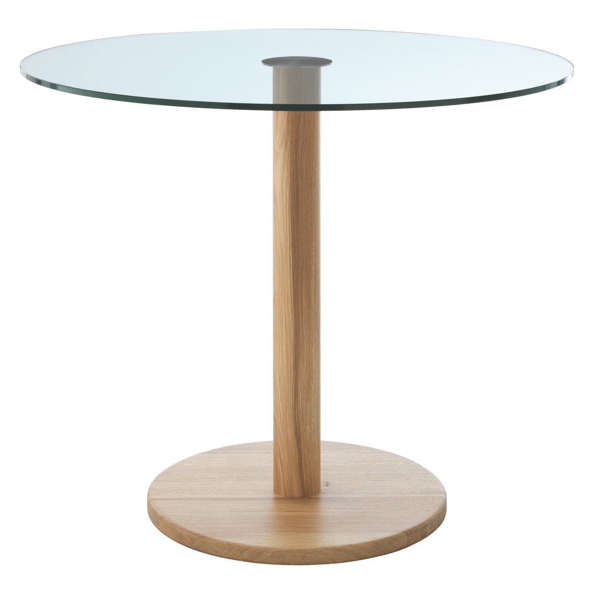 Buy Now At Habitat Uk With Latest Round Glass And Oak Dining Tables (Gallery 11 of 25)