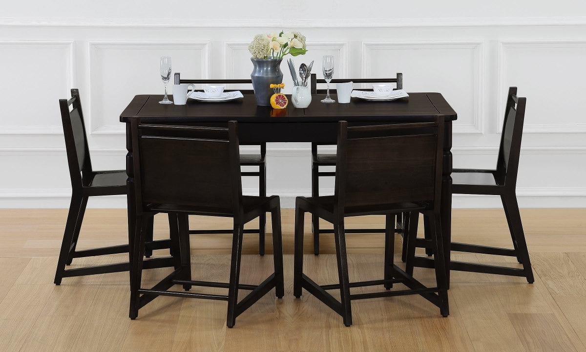 Buy Pento 6 Seater Extendable Dining Table Online In India Throughout Most Recently Released 4 Seater Extendable Dining Tables (View 14 of 25)