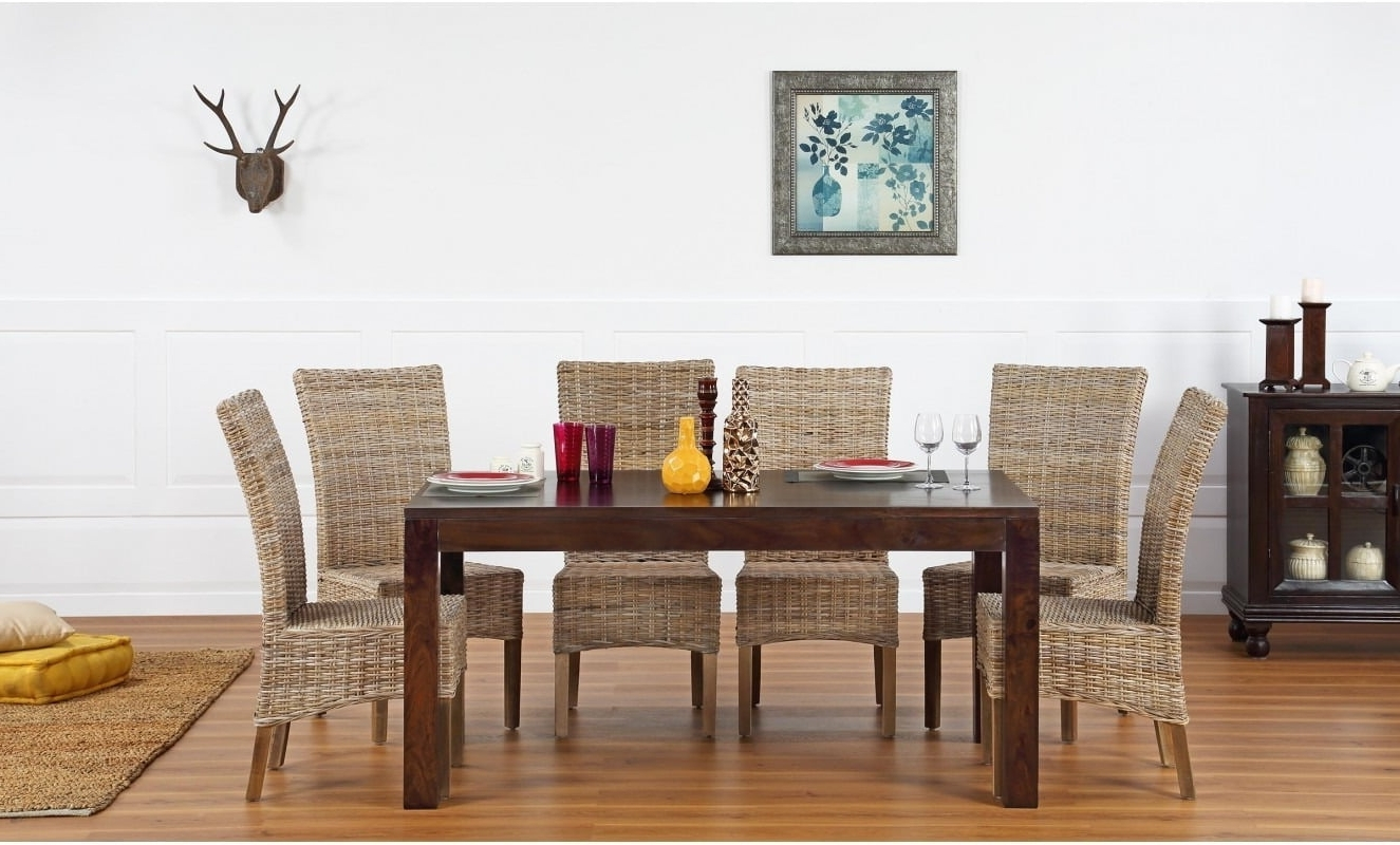 Buy Rio 6 Seater Dining Set Online – Furnspace In Famous Rio Dining Tables (View 4 of 25)