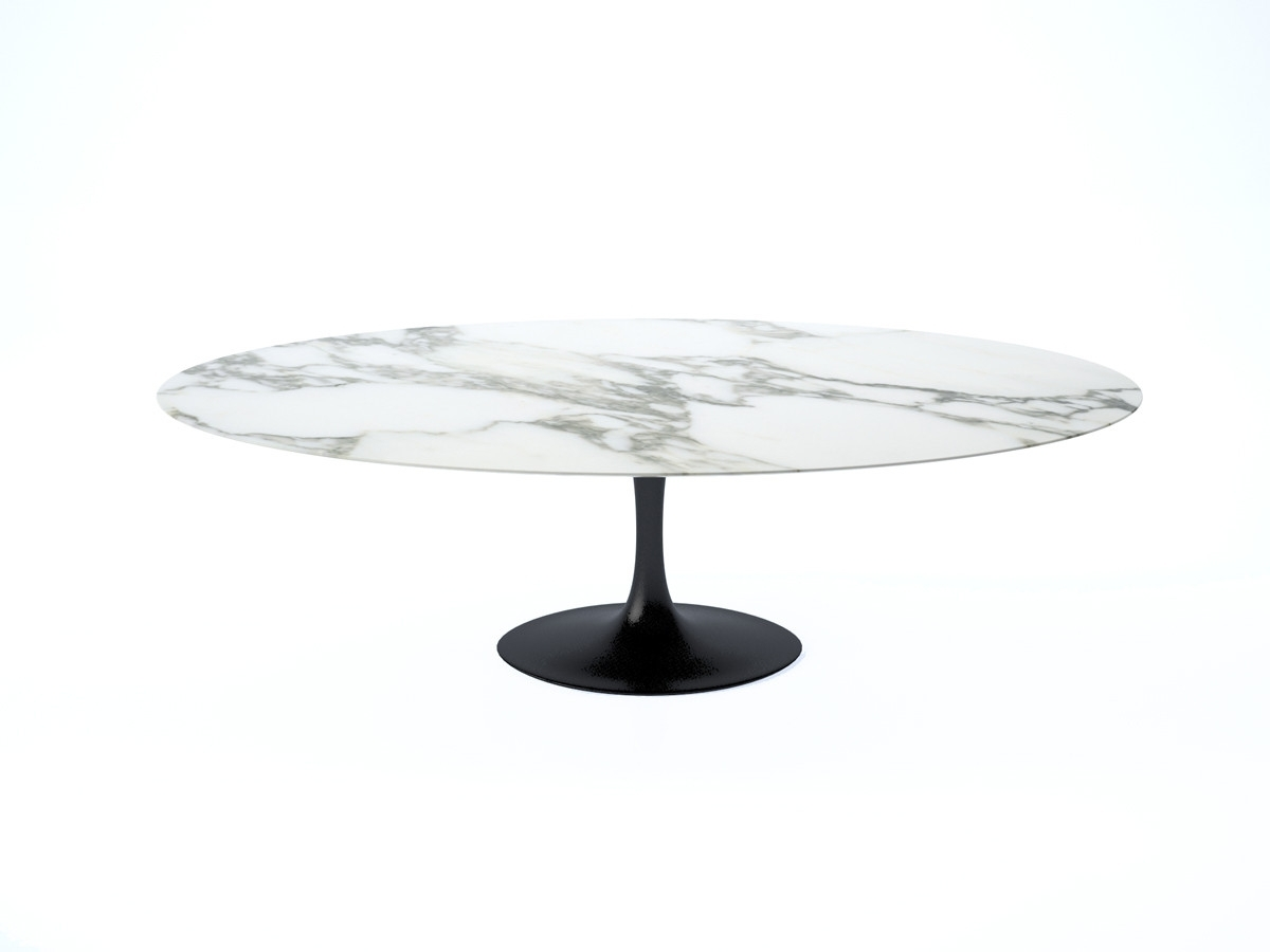 Buy The Knoll Saarinen Tulip Large Dining Table – Oval At Nest.co (View 13 of 25)