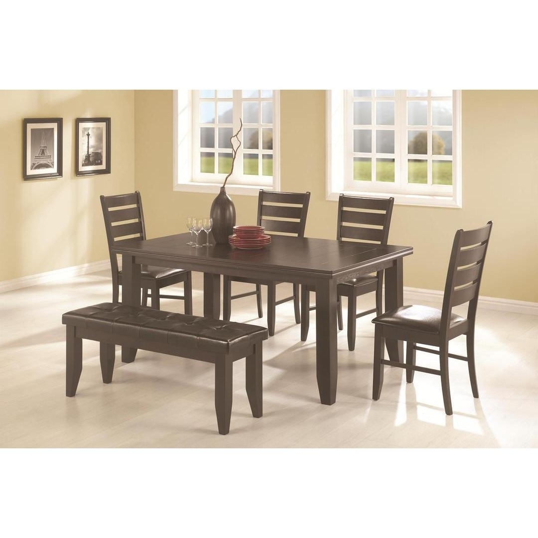 Caden 6 Piece Dining Sets With Upholstered Side Chair Intended For Most Current Talara 6 Piece Dining Set – Free Shipping Today – Overstock – 17742786 (Gallery 14 of 25)