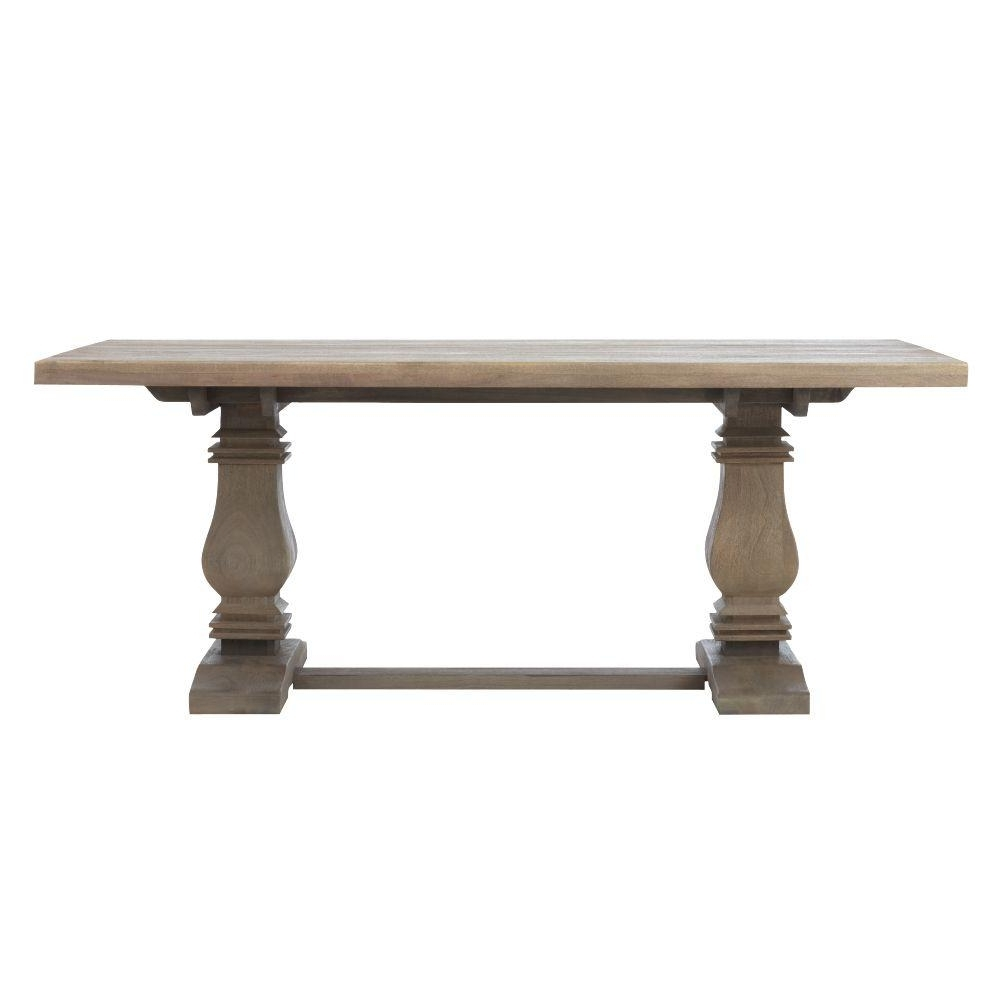 Caden Rectangle Dining Tables Throughout Well Known Aldridge Antique Gray Dining Table, Anitque Grey (View 7 of 25)