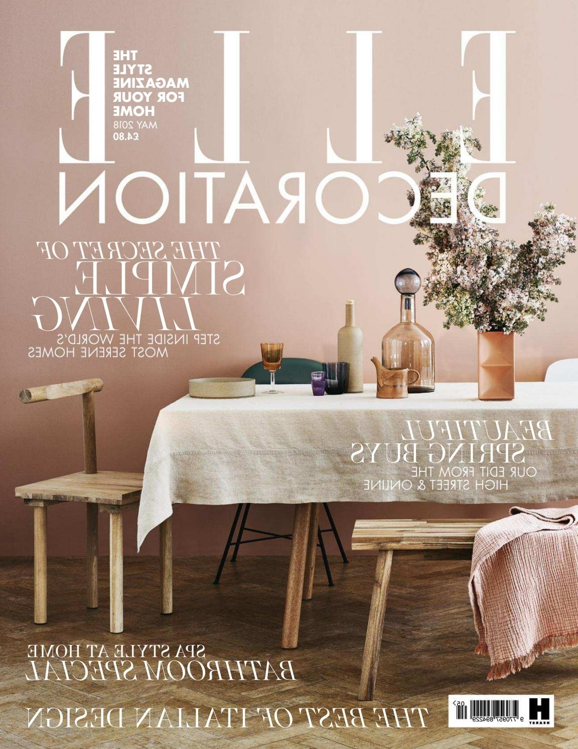 Caira 9 Piece Extension Dining Sets With Diamond Back Chairs With Regard To Newest Elle Decoration – Uk (May 2018)Bruna Heckmann – Issuu (View 8 of 25)
