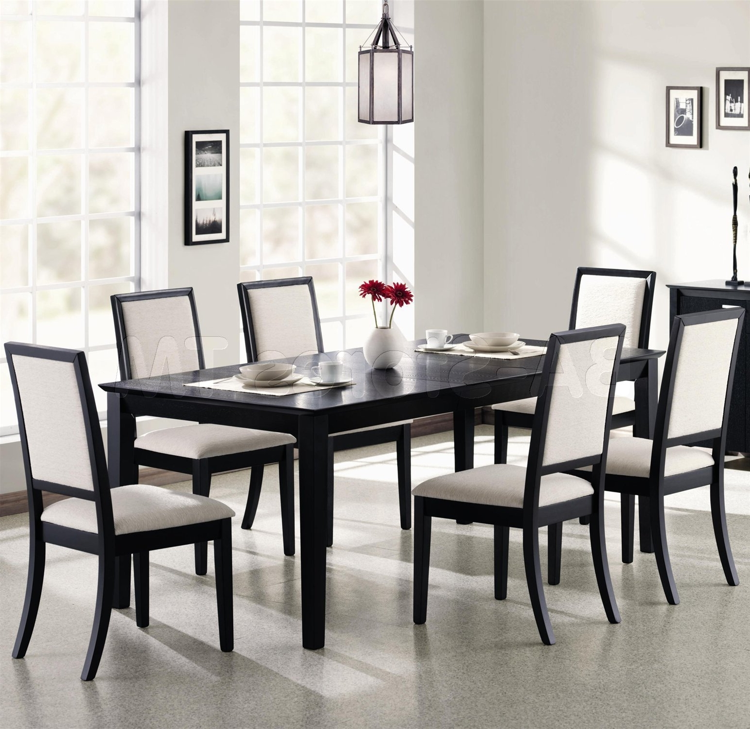Caira Black Round Dining Tables With Regard To Latest Furniture (View 13 of 25)