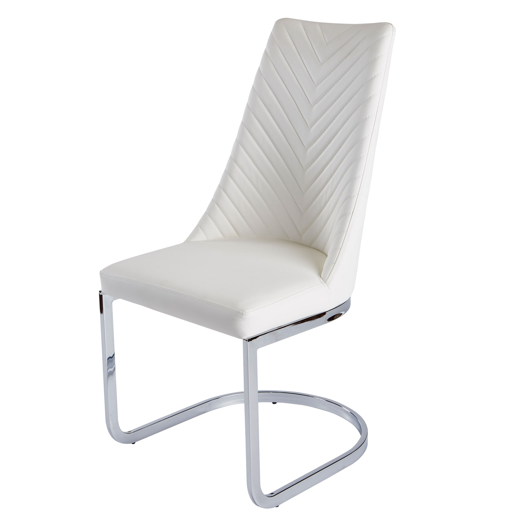 Camber White Dining Chair For Well Known White Dining Chairs (Gallery 5 of 25)