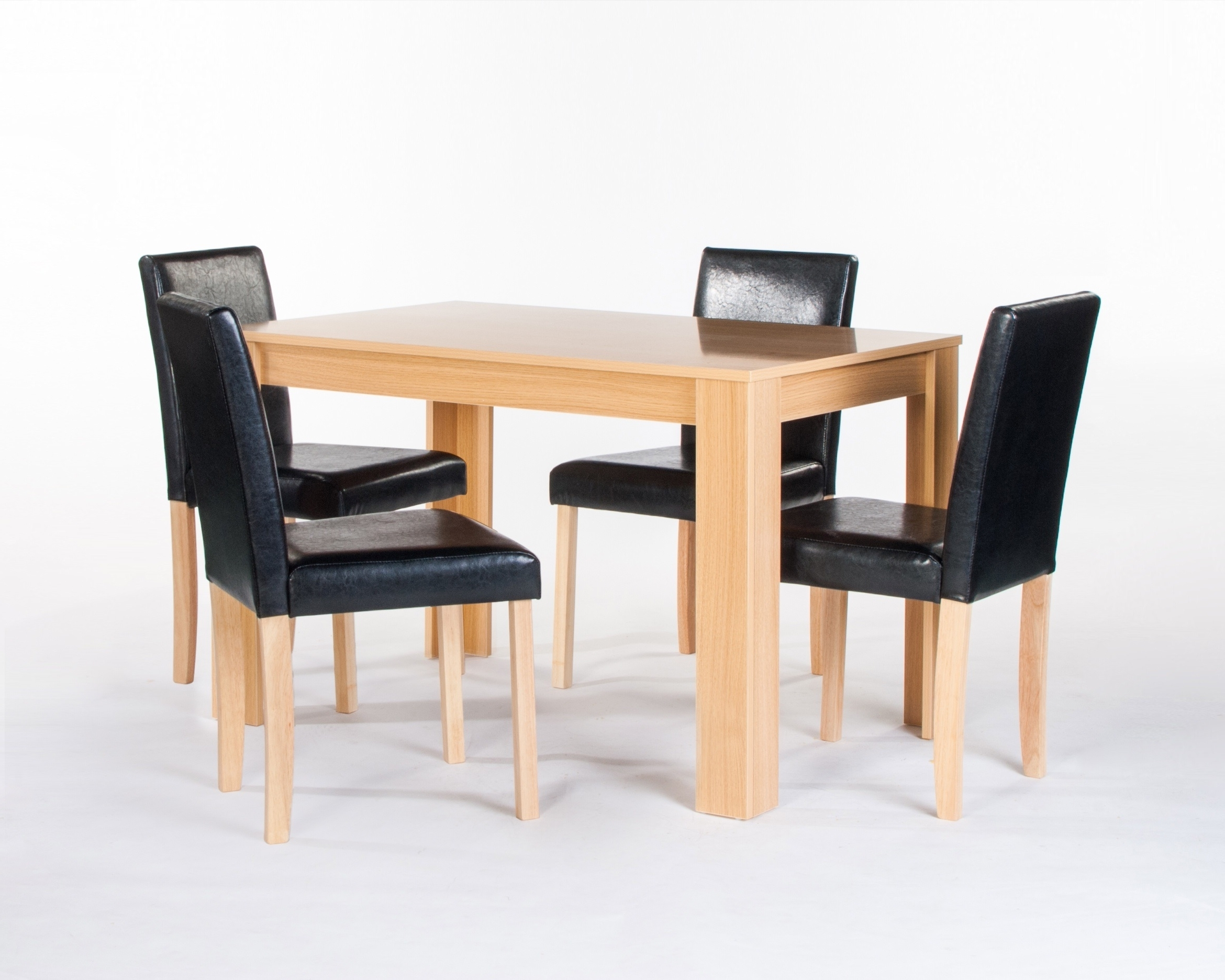 Cambridge Dining Table + 4 Chairs (View 8 of 25)