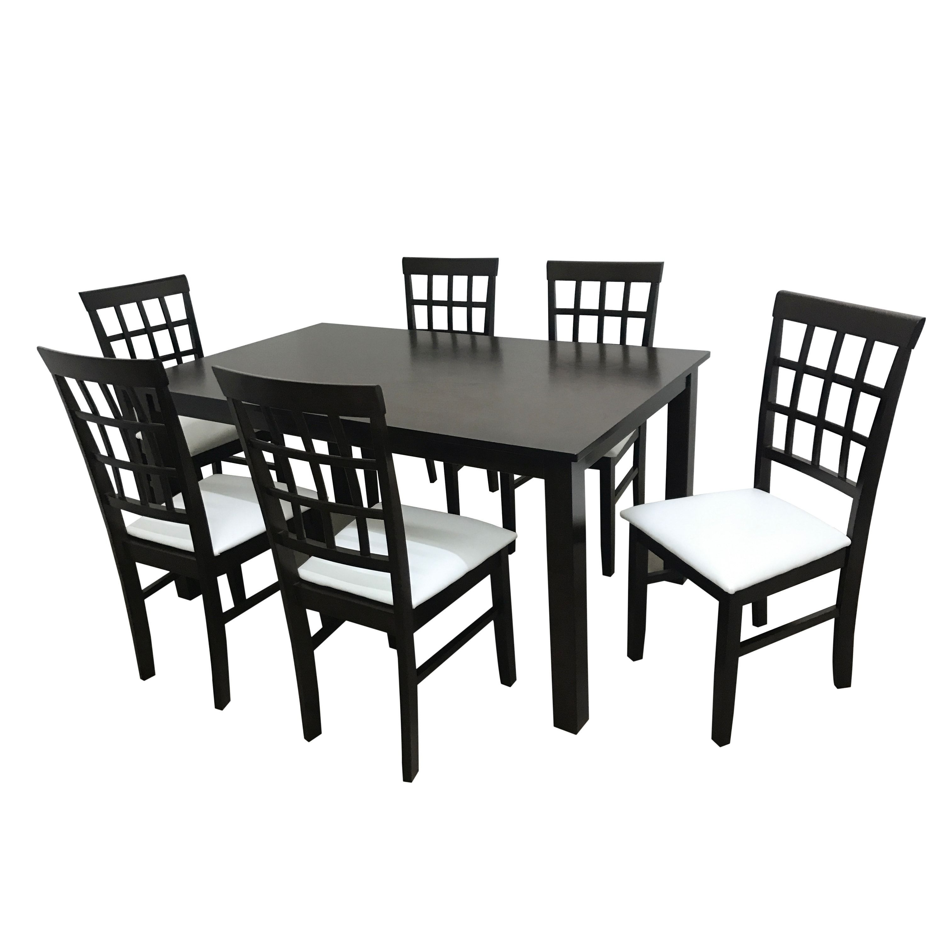 Camden Isle Maygrove Wood Dining Set (4 – 5 Piece Sets – Brown Pertaining To Trendy Chapleau Ii 7 Piece Extension Dining Tables With Side Chairs (Gallery 8 of 25)