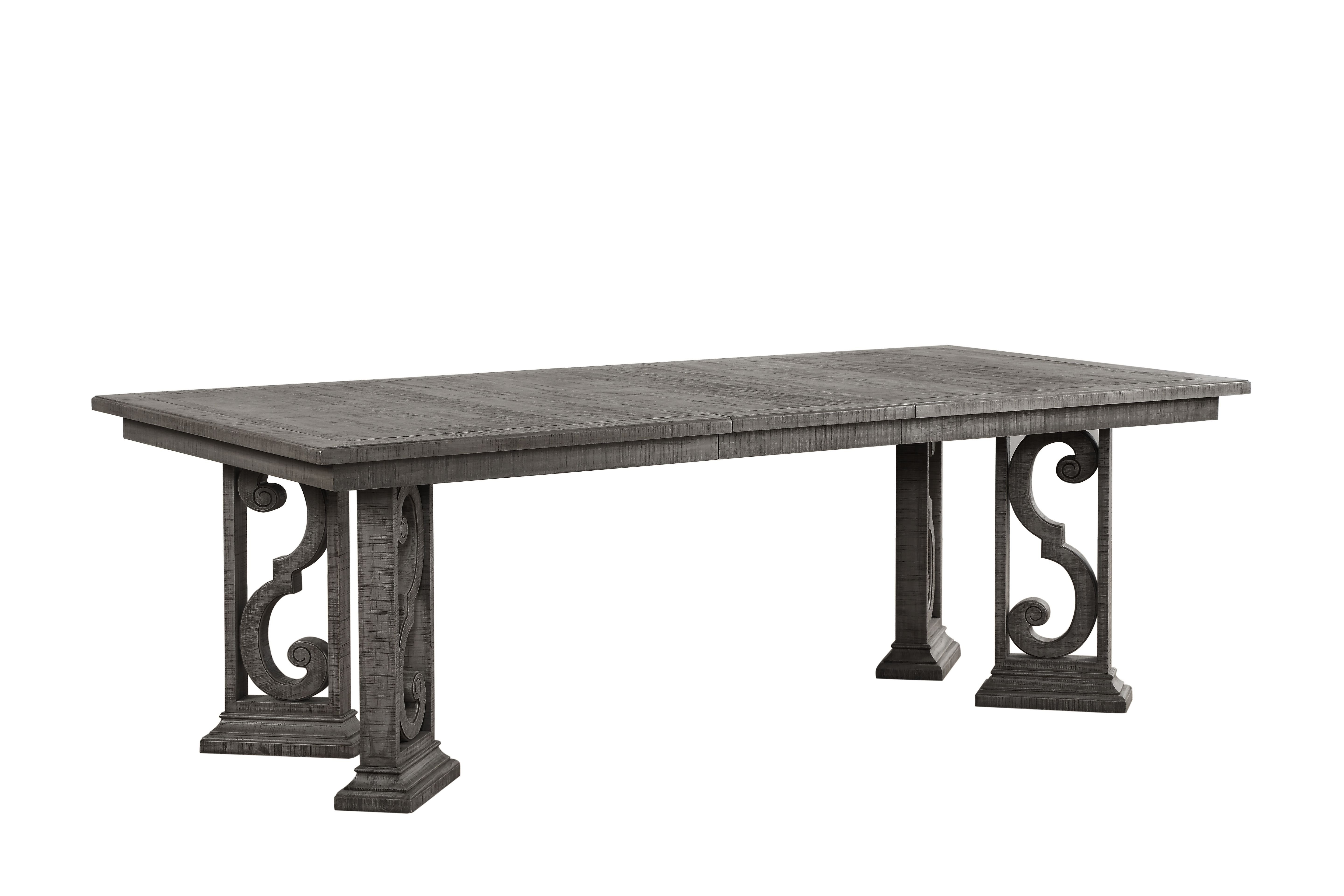 Candice Ii 6 Piece Extension Rectangle Dining Sets Pertaining To Most Current One Allium Way Candice Extendable Dining Table (View 7 of 25)