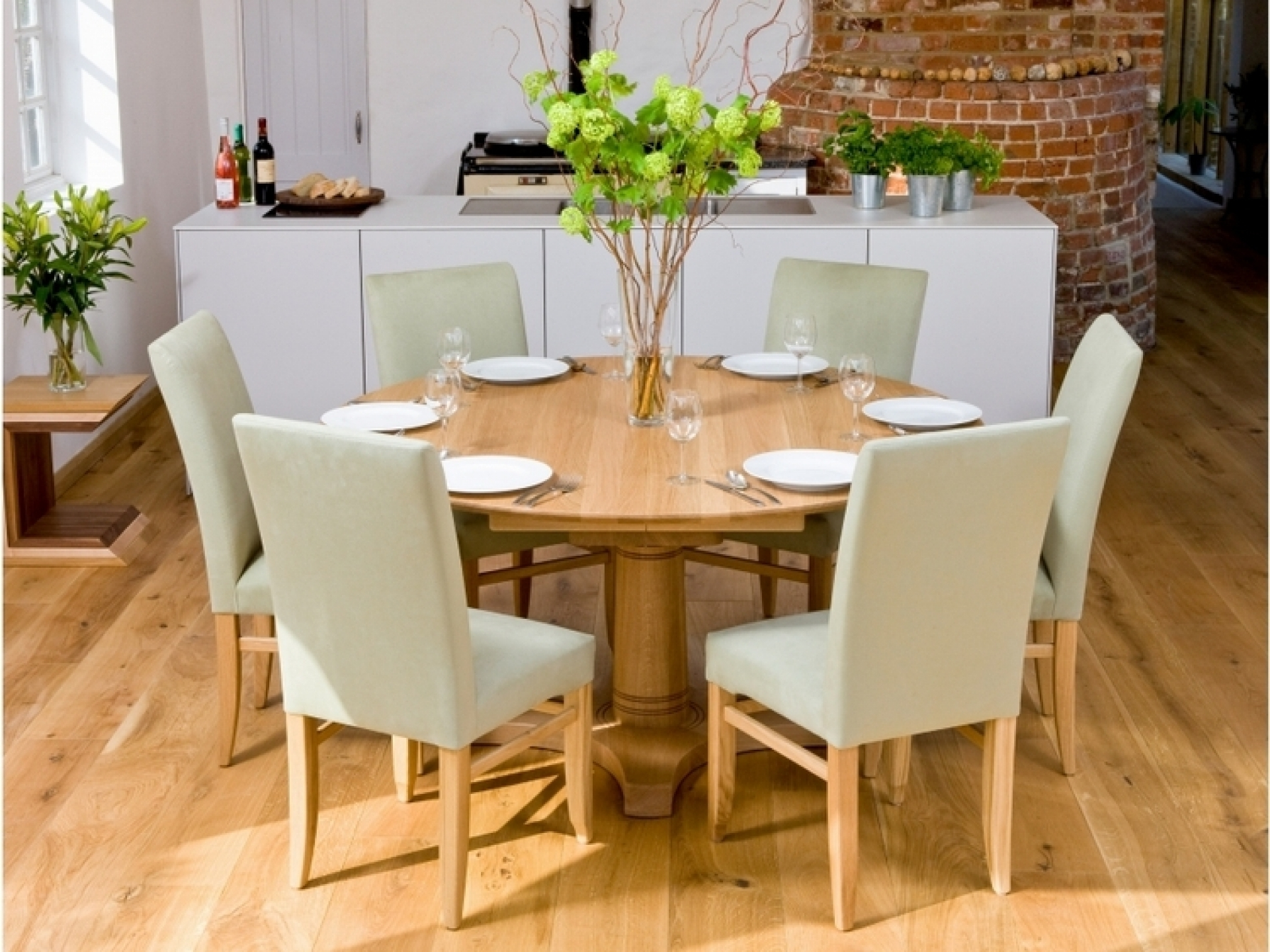 Candice Ii Round Dining Tables Throughout Most Current Decorating Nice Dining Table Set 6 Seater And House Beautiful Rooms (View 6 of 25)